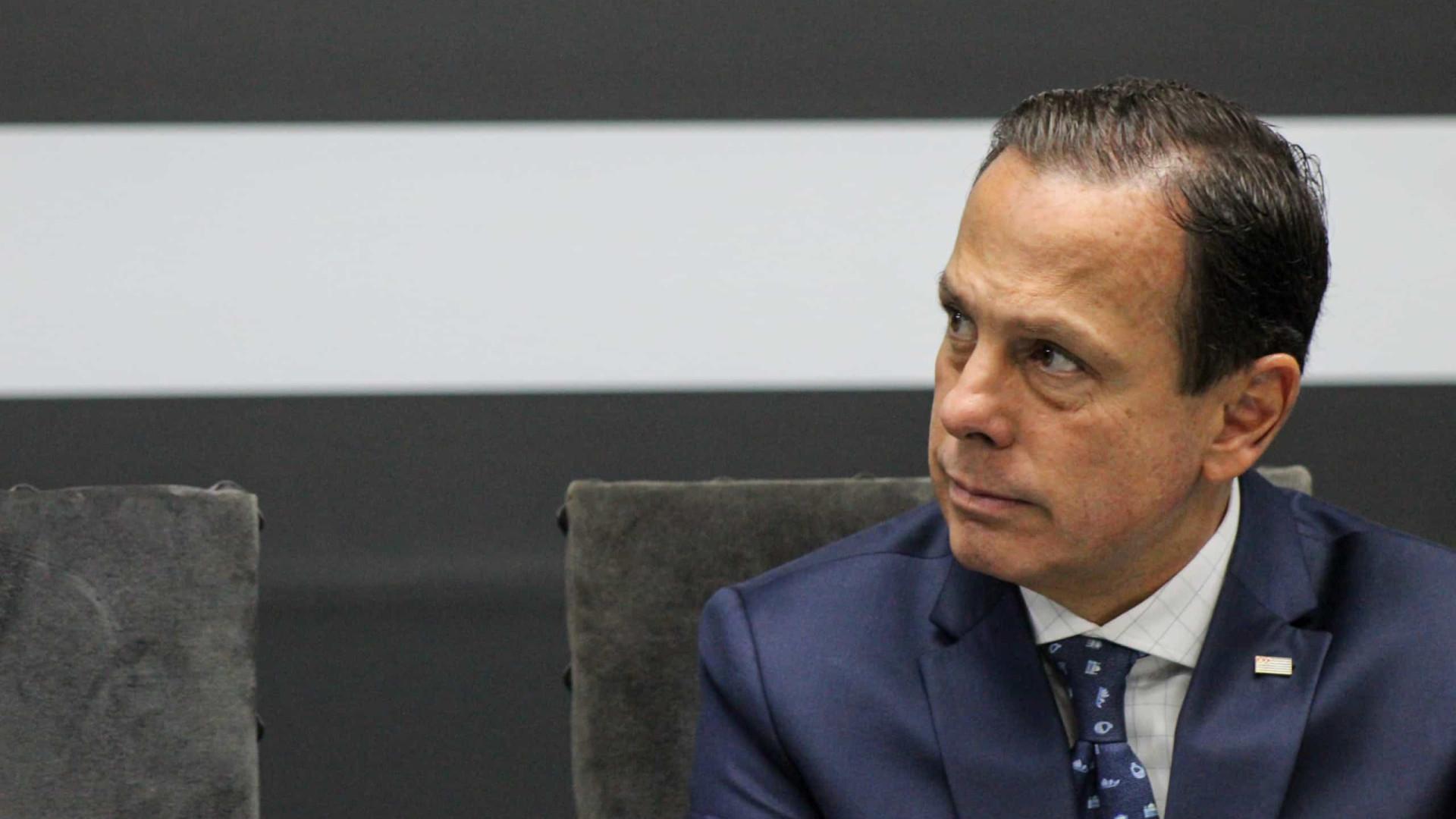 Doria apresenta a prefeitos plano de vacinação contra covid-19 para SP