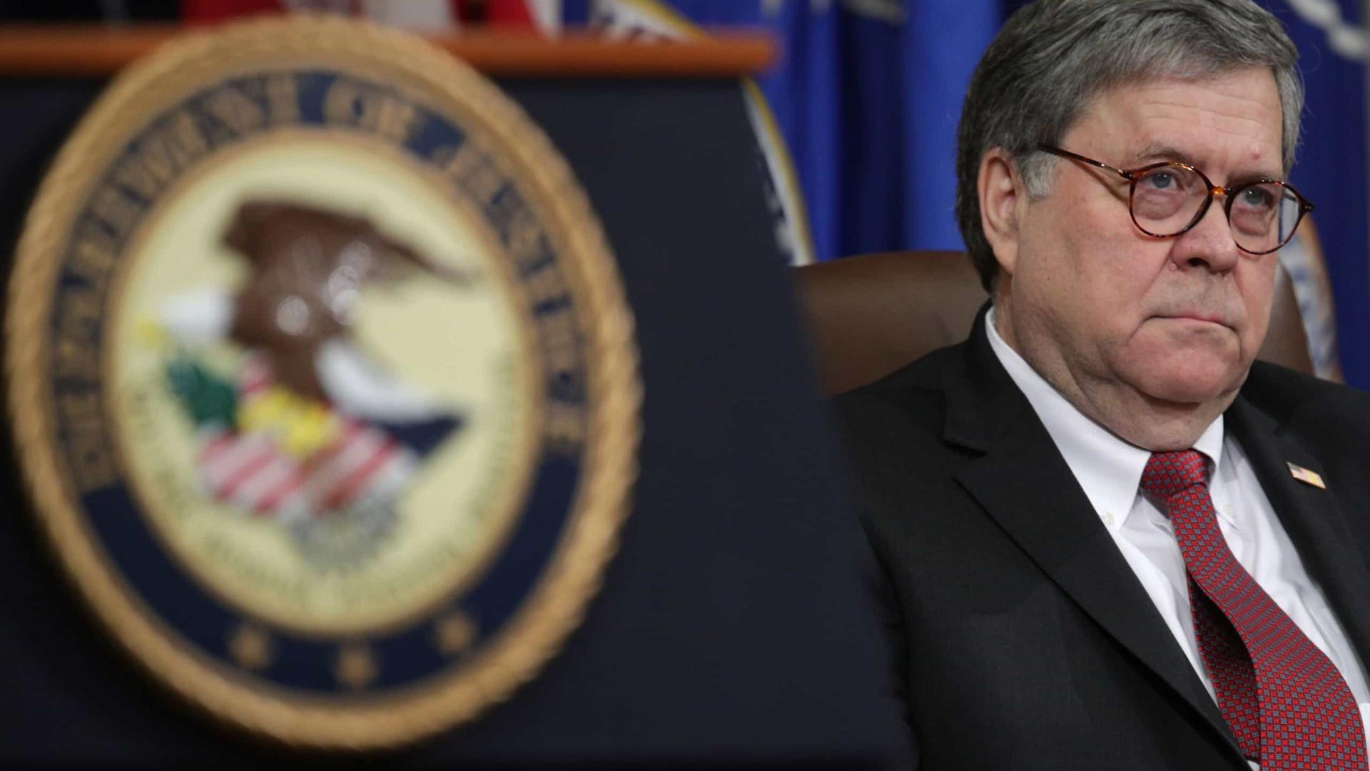 Advogado-geral dos EUA permite investigações de fraude eleitoral