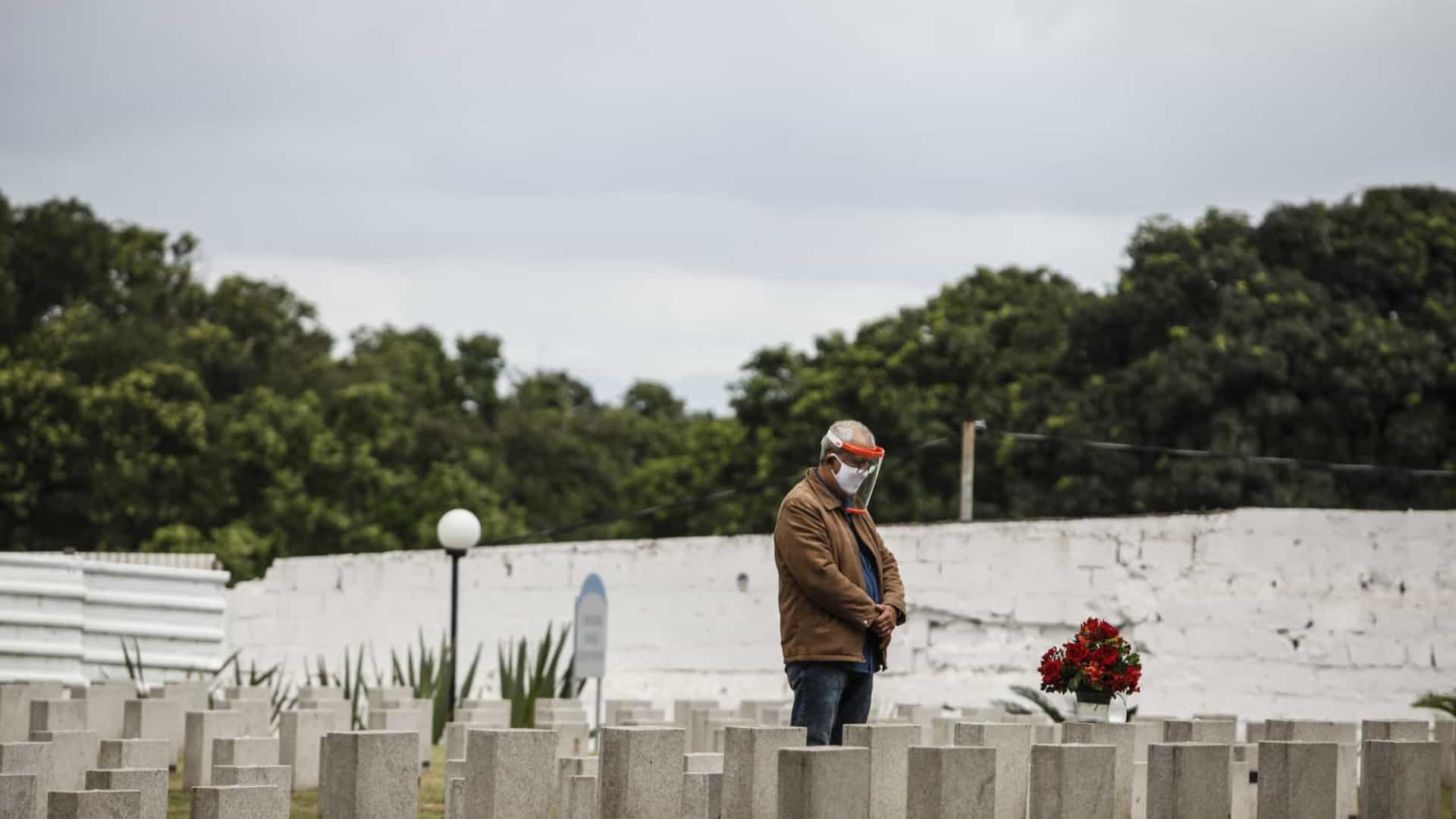 Brasil ultrapassa 190,5 mil mortes pela Covid-19, mostra consórcio de imprensa