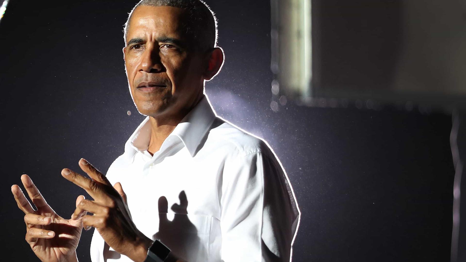 Em meio ao avanço da variante delta nos EUA, Barack Obama marca festa de 60 anos