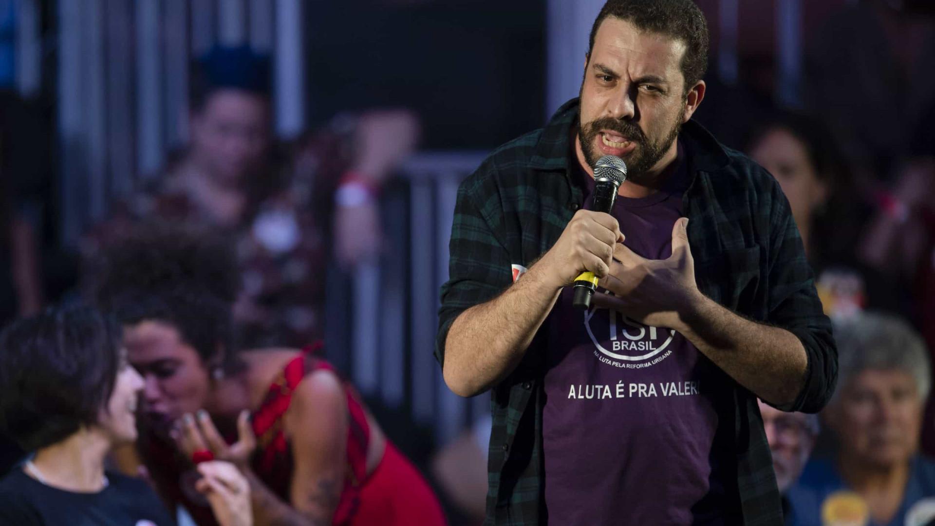 Boulos diz que Lula, Ciro, Dino e outros líderes estarão em sua propaganda