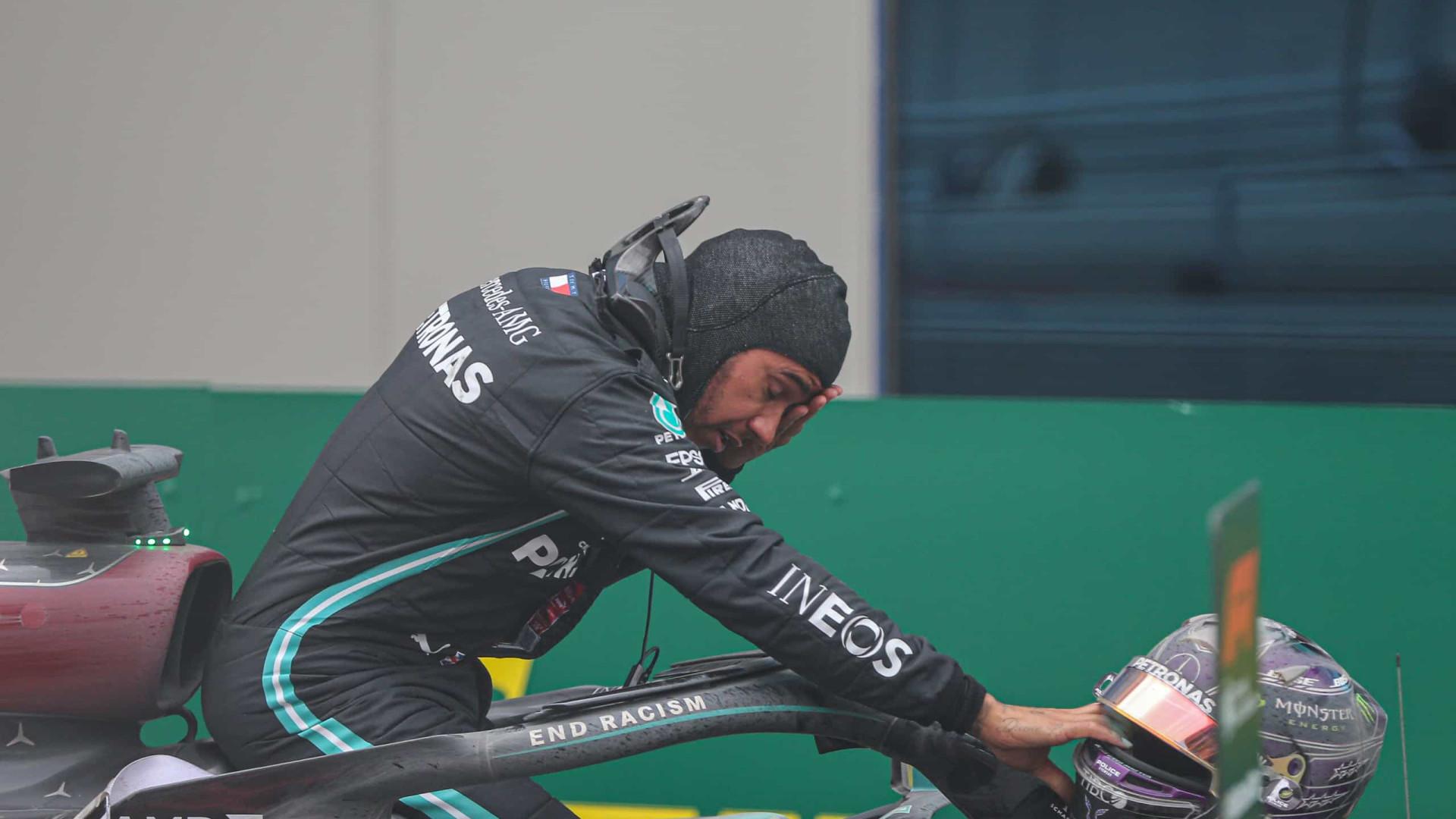 Com Covid-19, Hamilton enfrenta restrições rígidas para tentar disputar GP