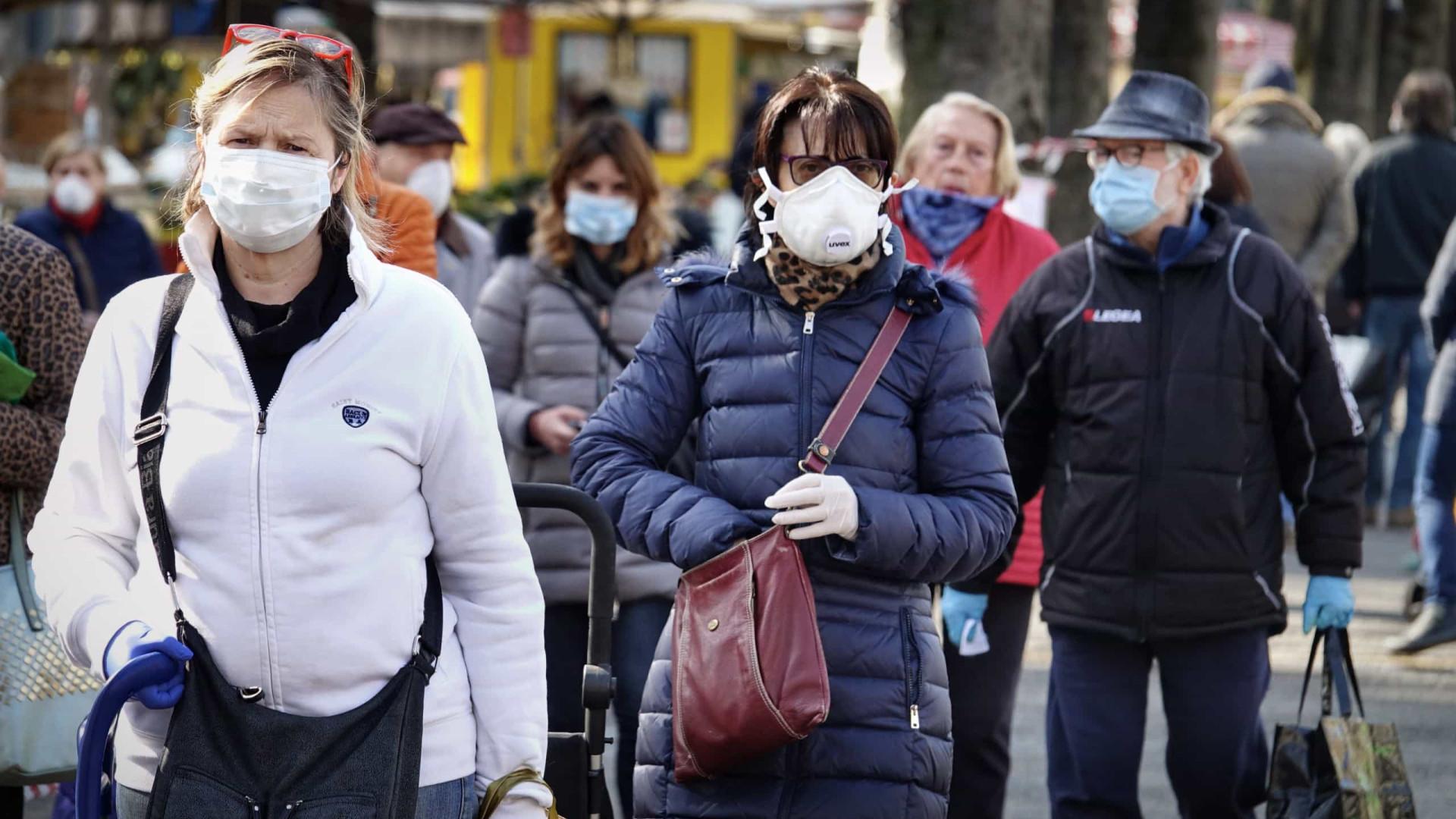 Coronavírus presente na Itália desde setembro de 2019, afirma estudo
