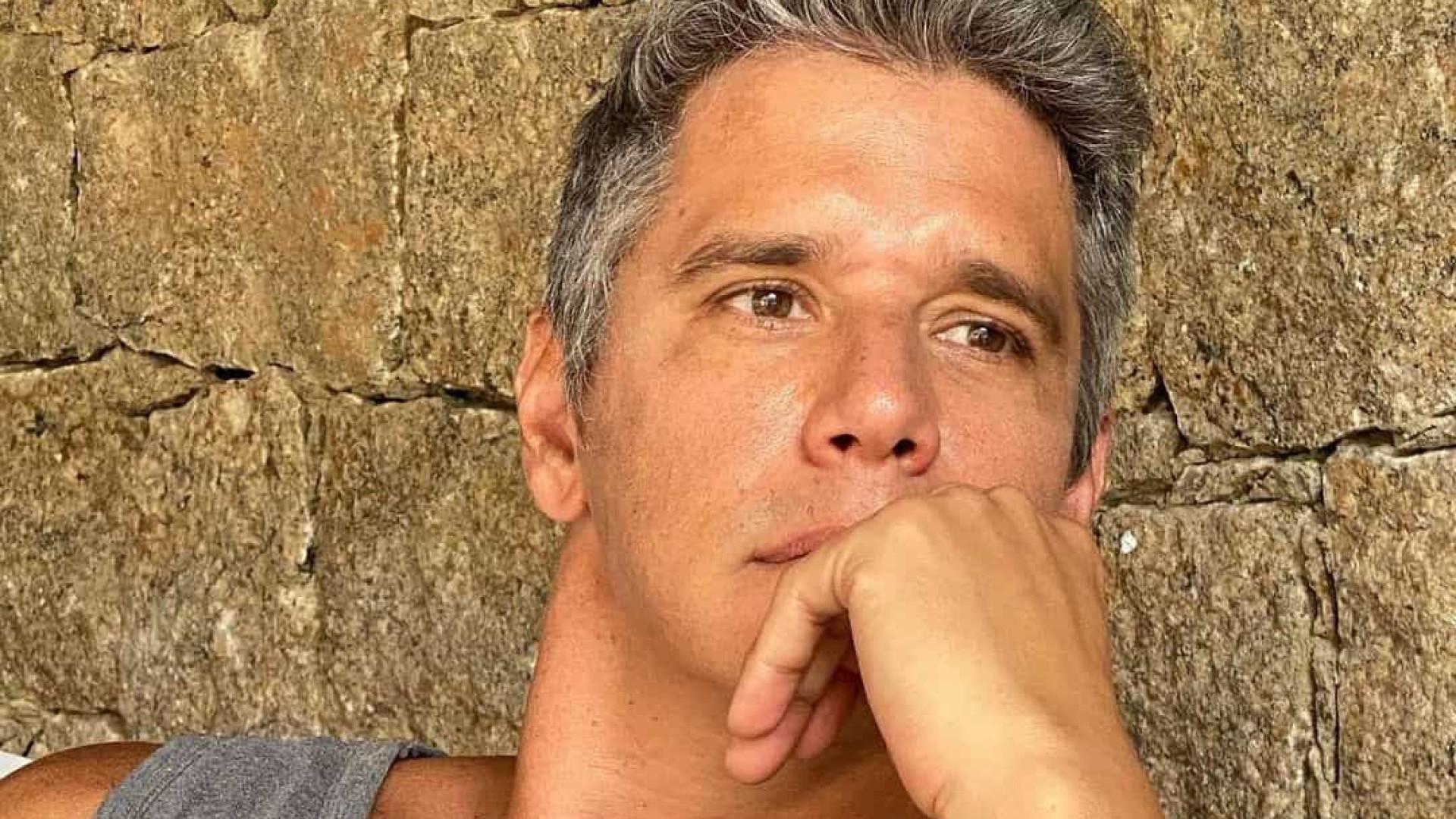"""Marcio Garcia sobre saúde do pai. """"Está se recuperando muito bem"""""""