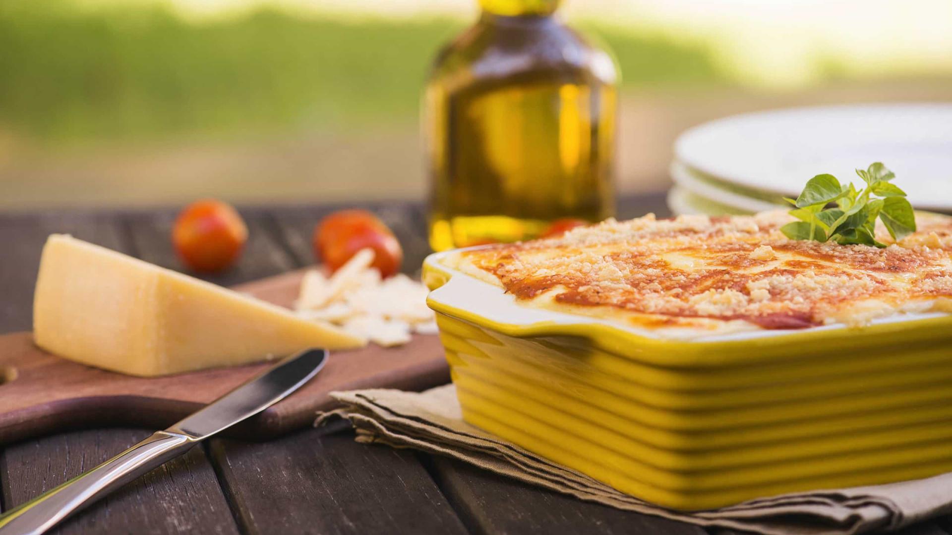 Receita: Lasanha de Frango com Queijo Cremoso e Presunto