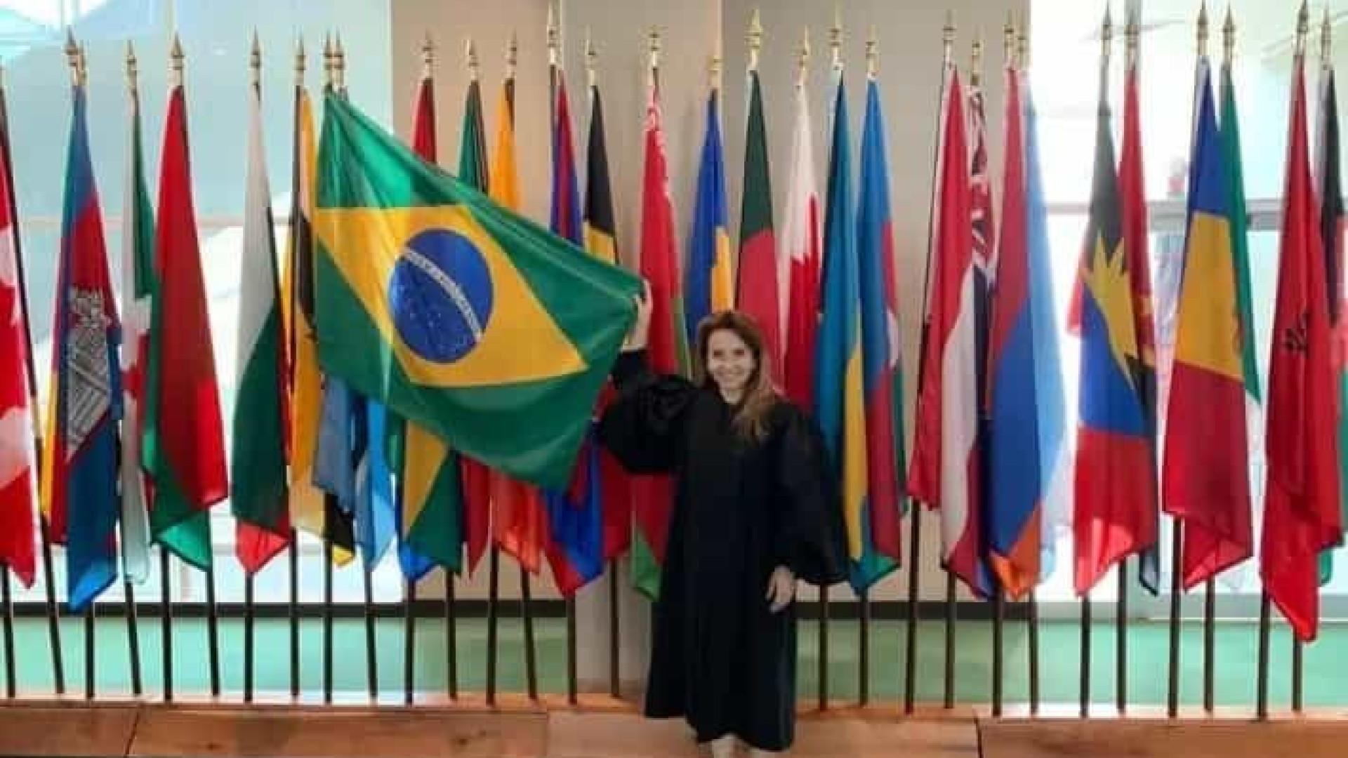 Brasileira presidirá tribunal da ONU
