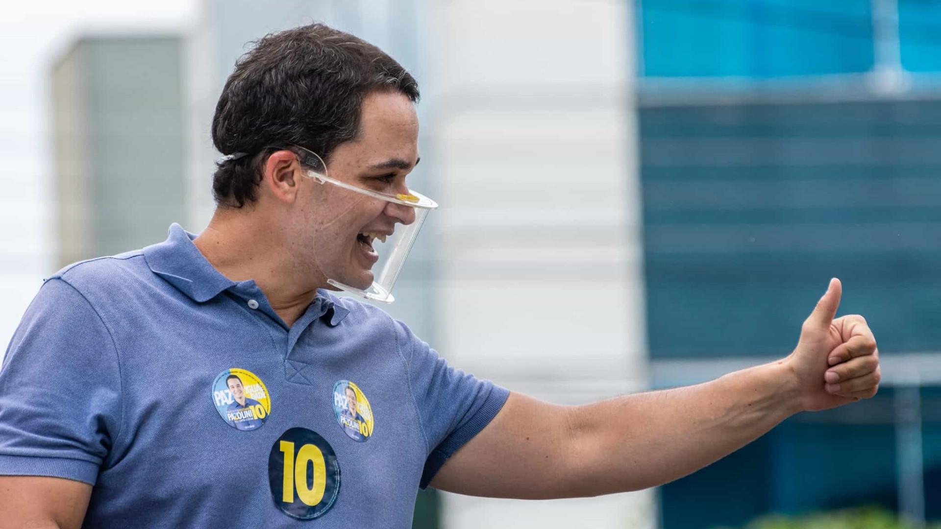 Com 94% apurado, Delegado Pazolini está eleito em Vitória