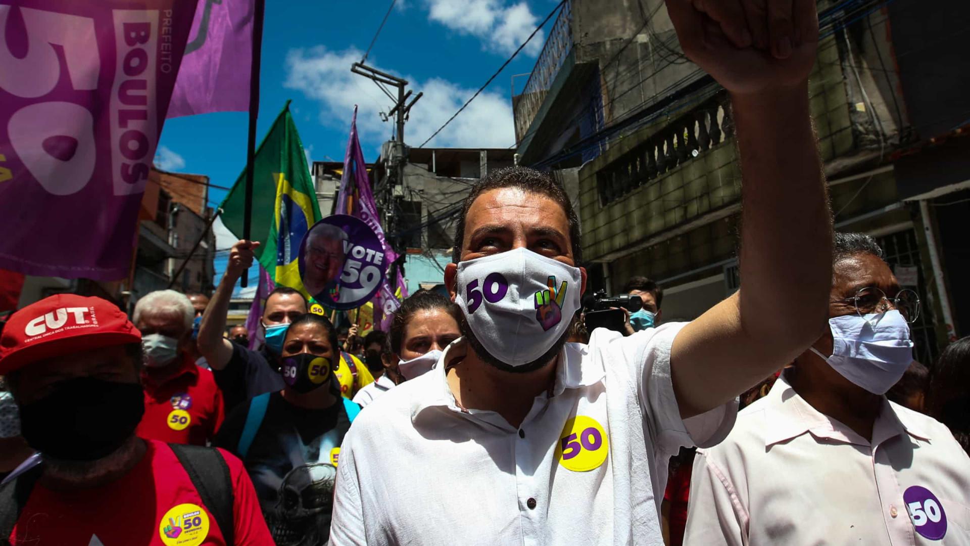 Guilherme Boulos: 'Não foi nessa eleição, mas a gente vai ganhar'