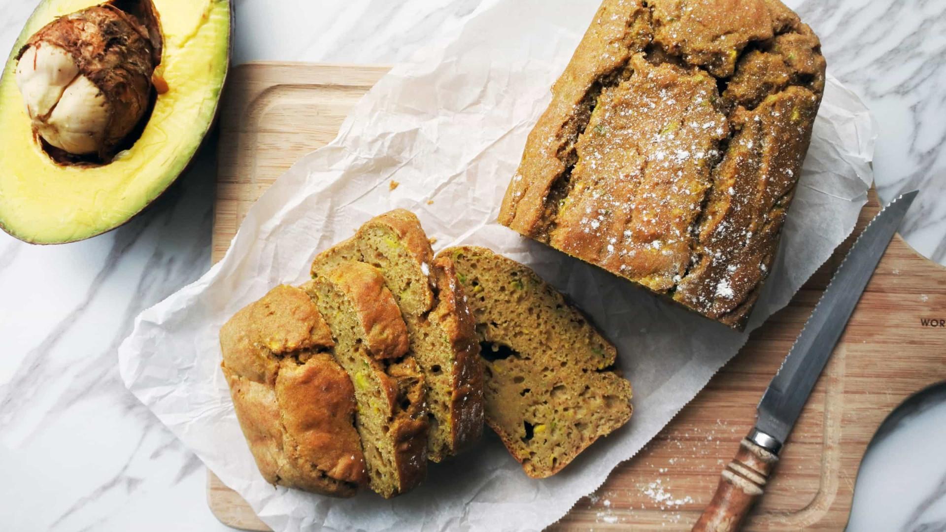 Receita de pão de abacate fofo, uma delícia saudável