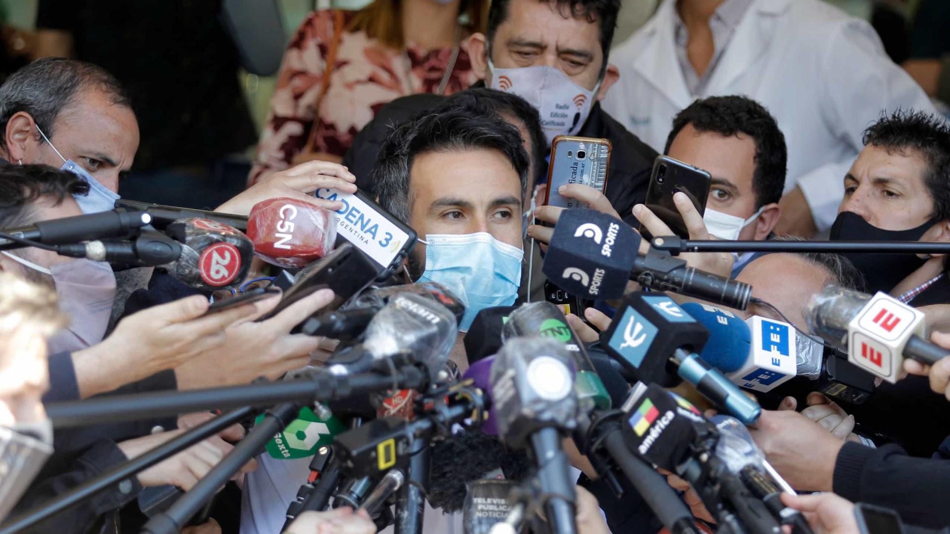 Médico de Maradona vai depor após suspeitas de homicídio involuntário