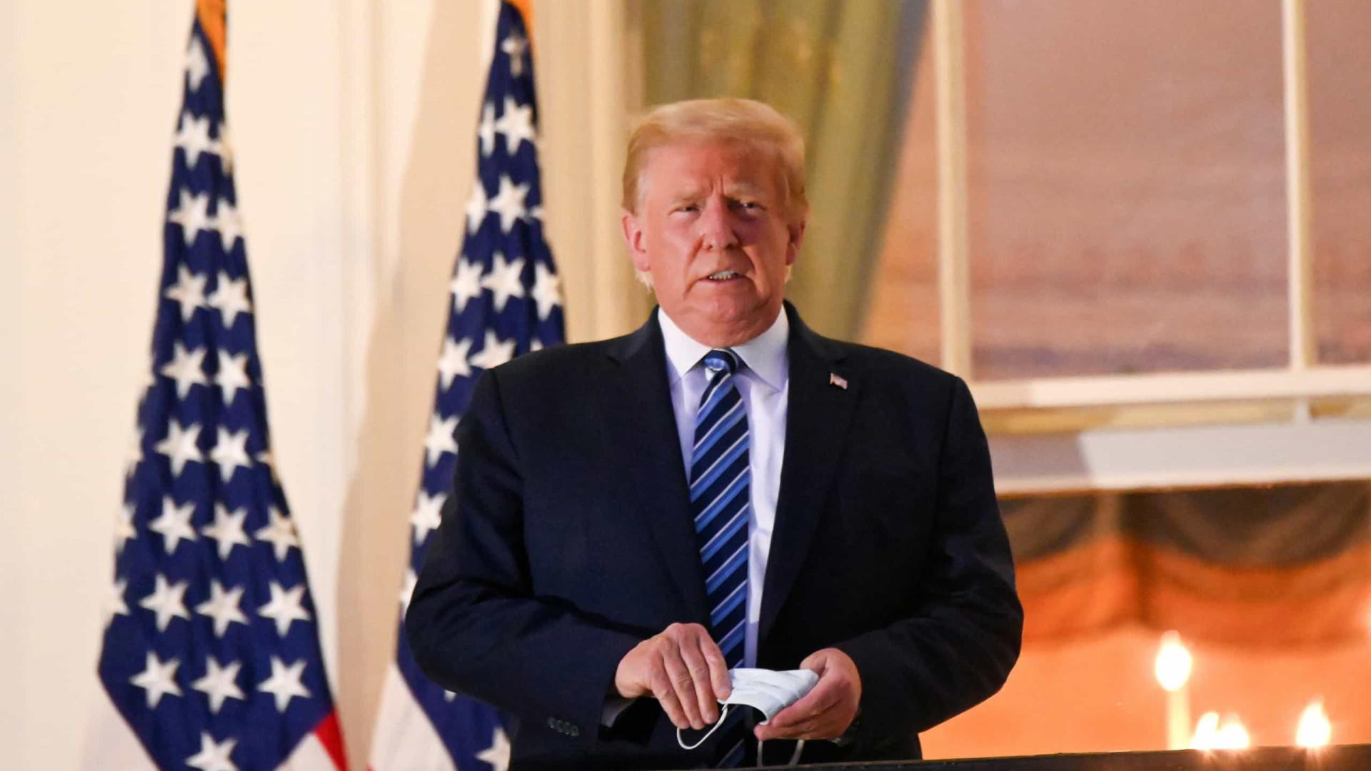 Trump pede orações por sucesso do novo governo, mas diz que seu movimento 'apenas começou'