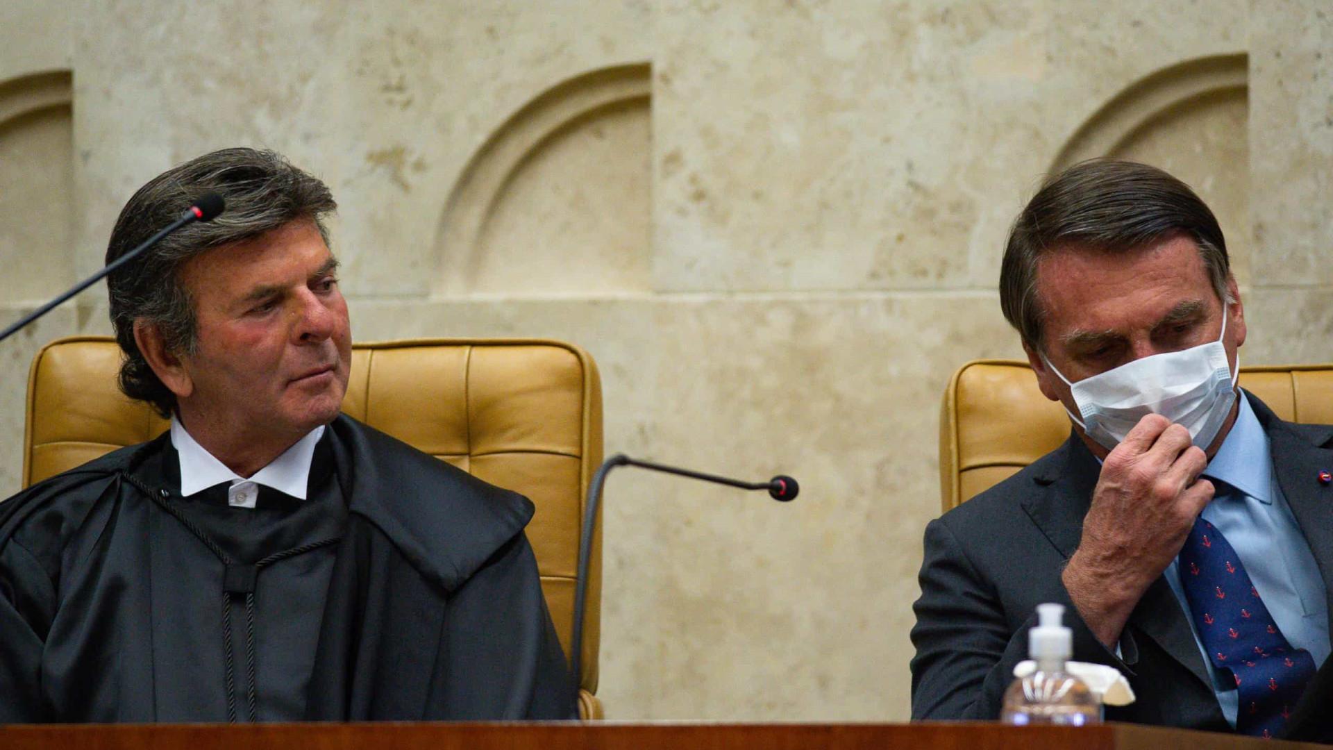 Bolsonaro, ao STF: vocês não são os donos do mundo