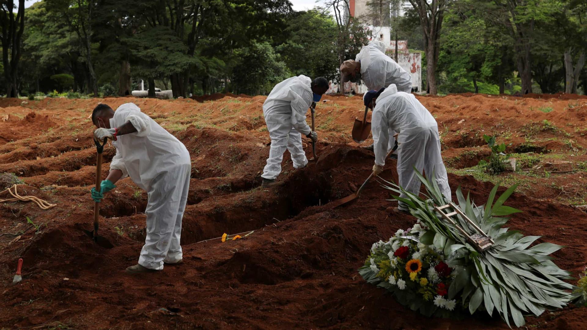 Covid-19: 17 mil novos casos e 307 mortes no Brasil nas últimas 24 horas