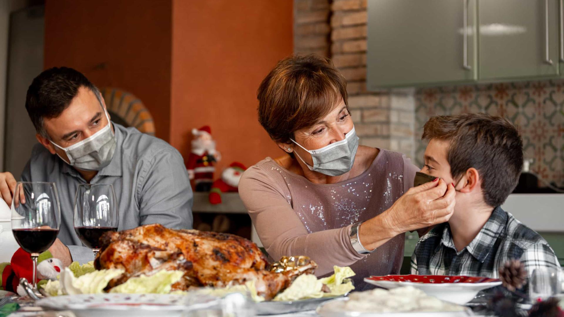 Encontrou a família e sintomas de Covid começaram agora? Isole-se e avise-os