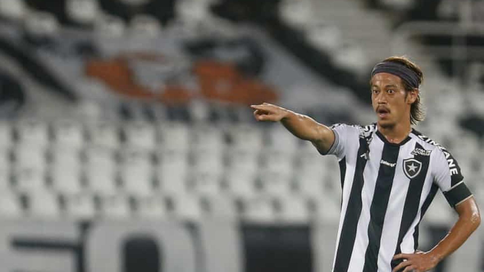 Honda se manifesta e dá adeus ao Botafogo: 'Também me decepcionei, sinto muito'