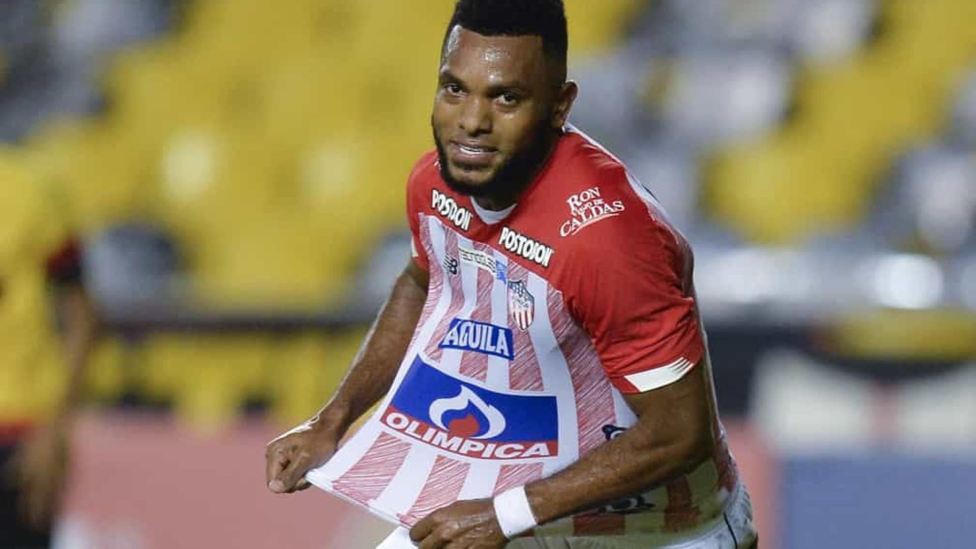 Junior Barranquilla anuncia acerto com Palmeiras para novo empréstimo de Borja