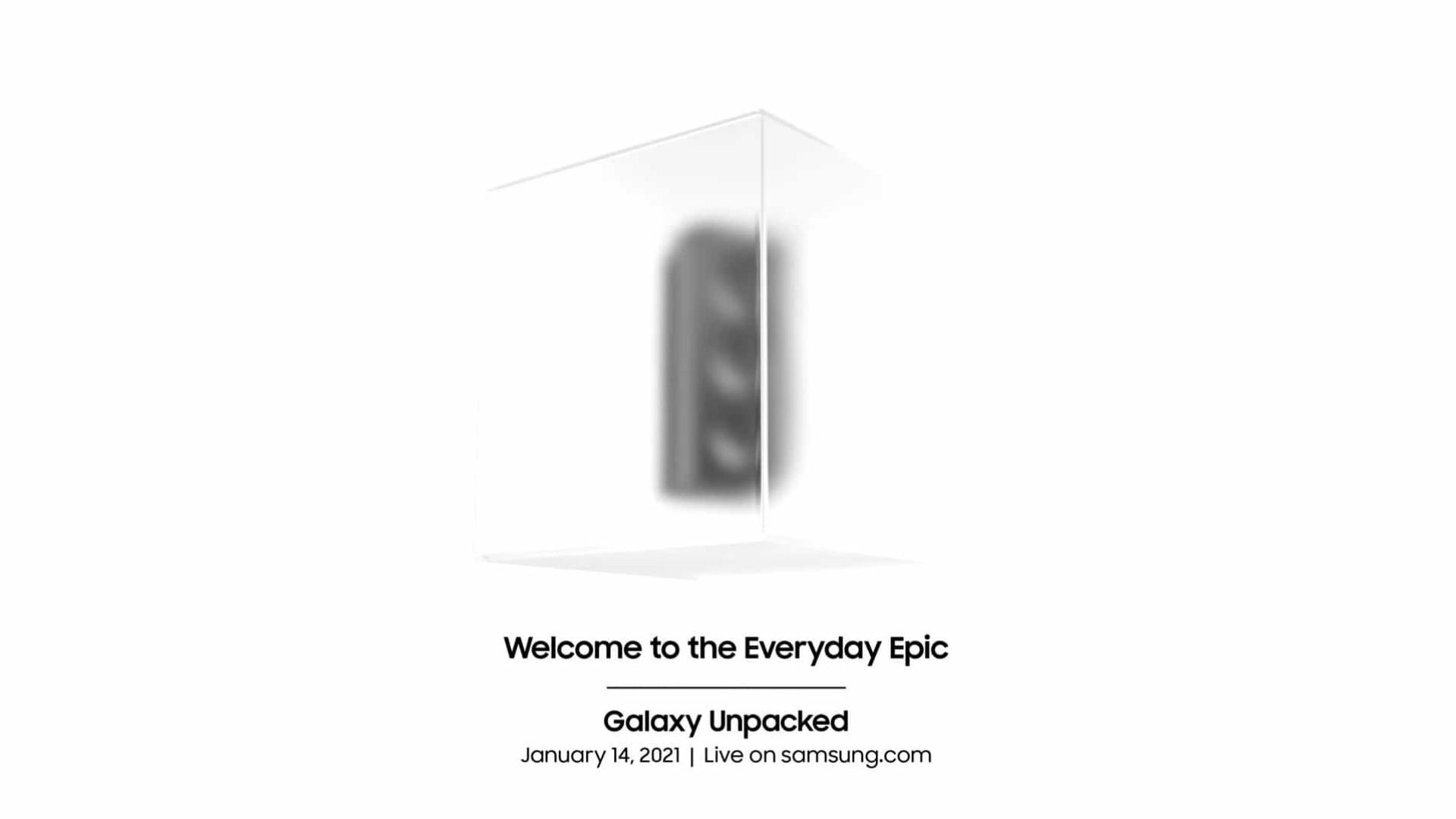 Apresentação do Galaxy S21 já tem data marcada