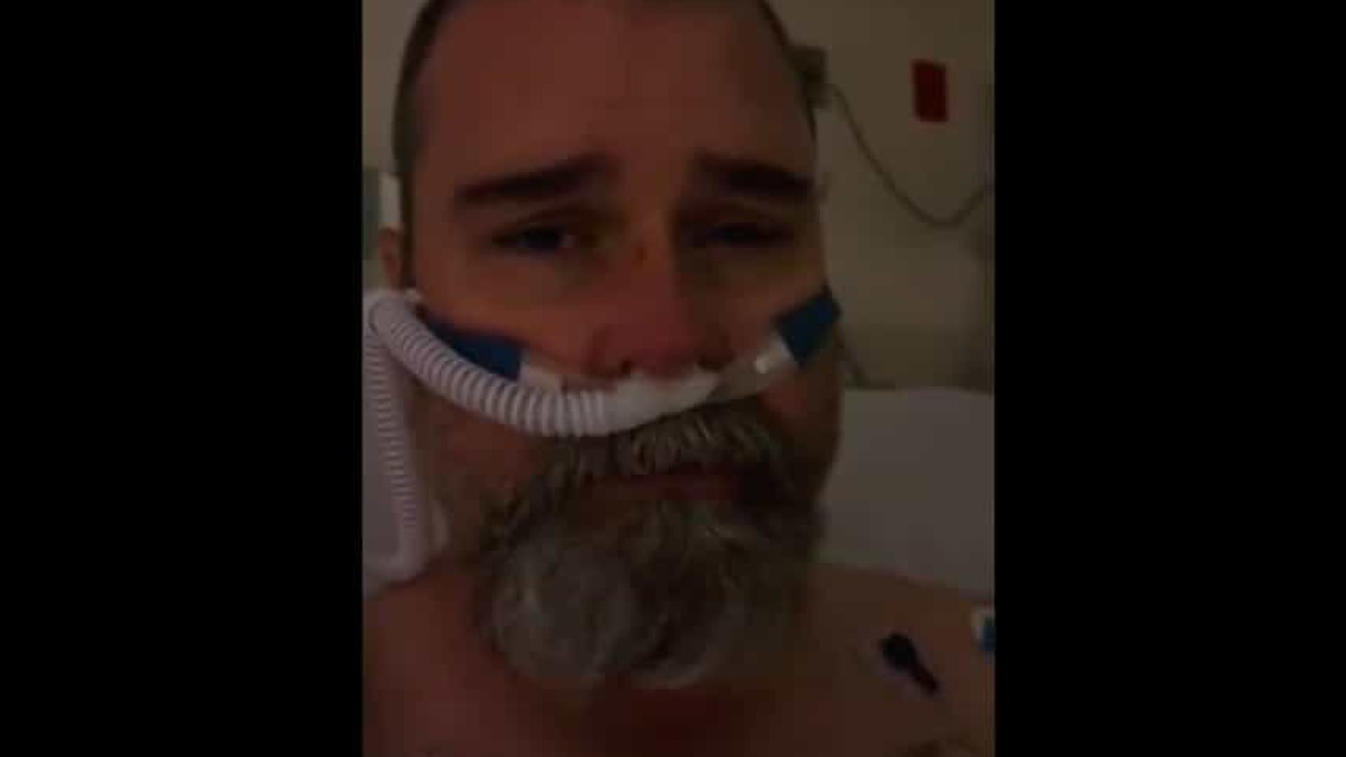Homem que viralizou ao duvidar da Covid e recusou usar máscara faz apelo