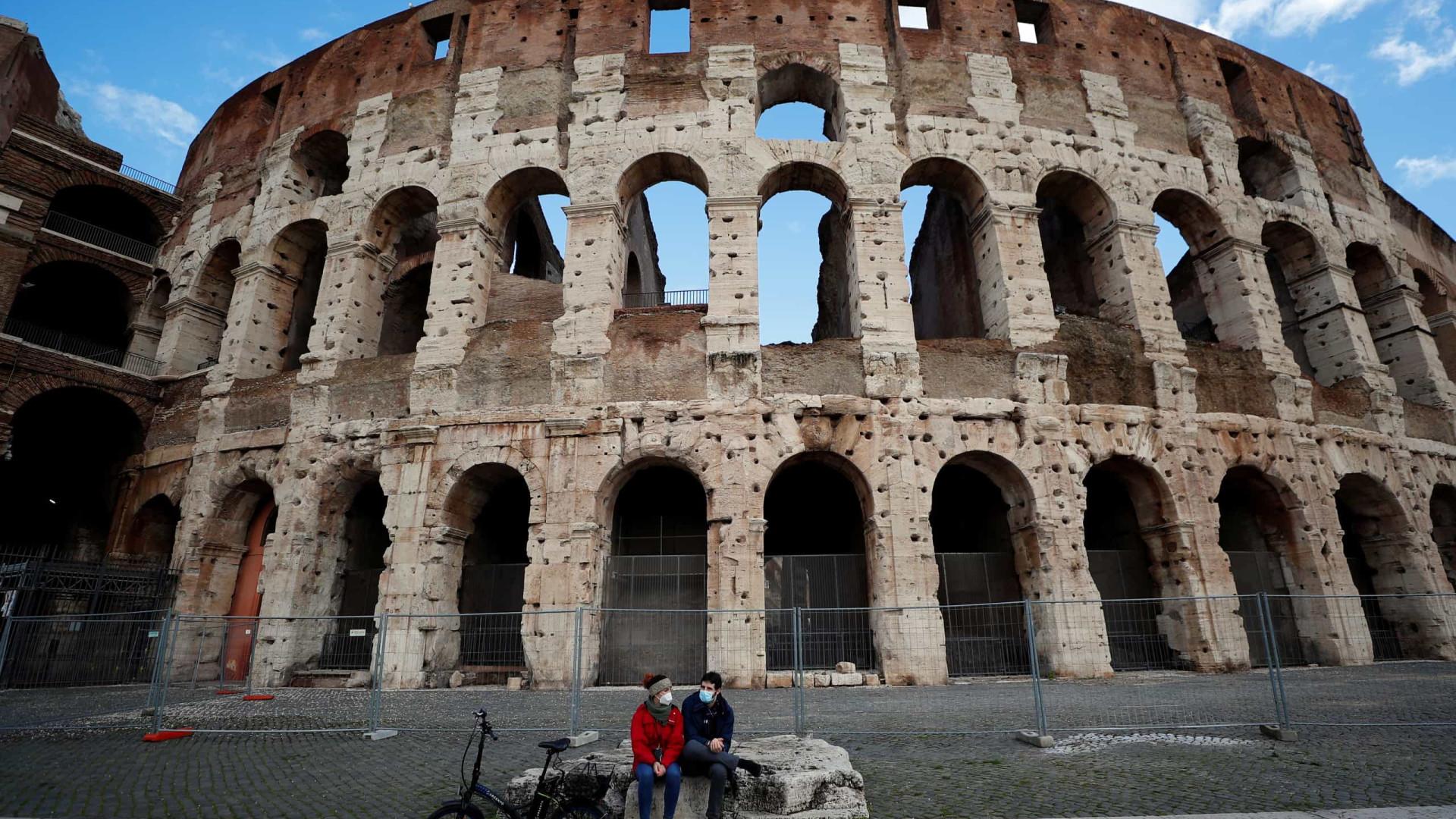 Itália registra 9.630 novas infecções e mais 274 mortos nas últimas 24h