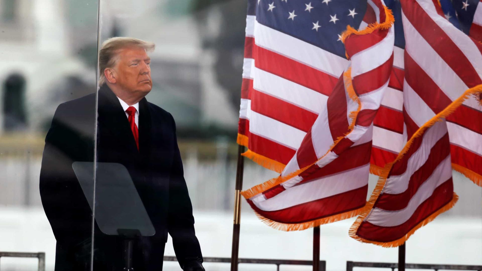 Trump prepara-se para conceder 100 indultos no último dia do seu mandato