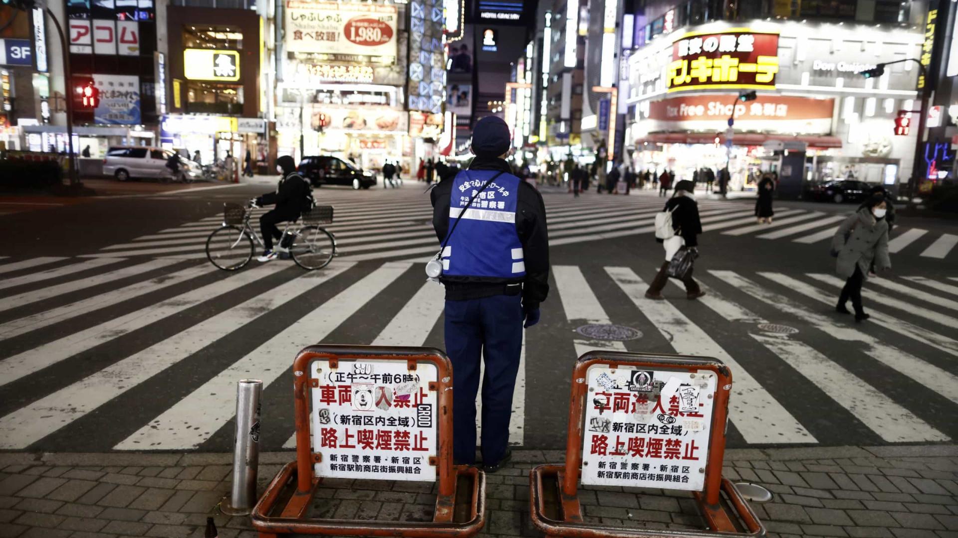 A 3 meses dos Jogos Olímpicos, Japão declara novo estado de emergência em Tóquio