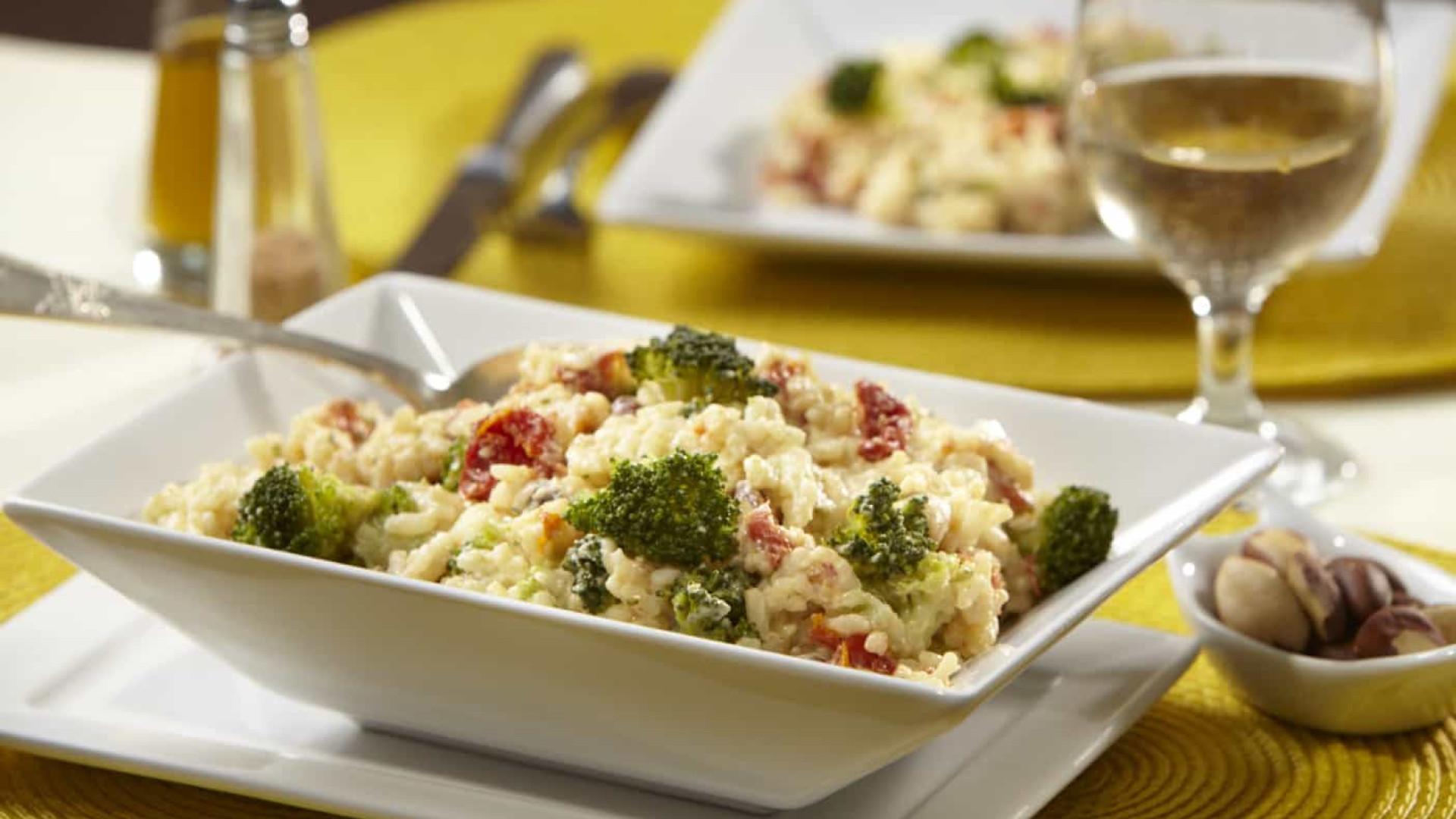 Receita fácil e rápida: Risoto de brócolis