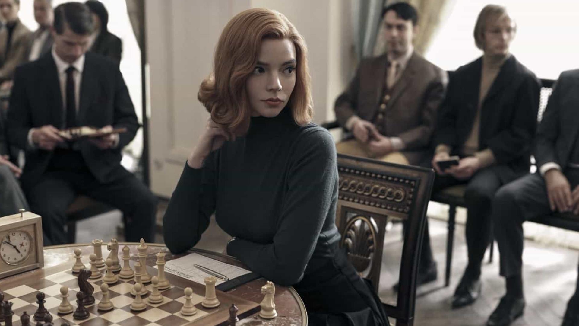 'Gambito da Rainha' é a série mais vista em 2020