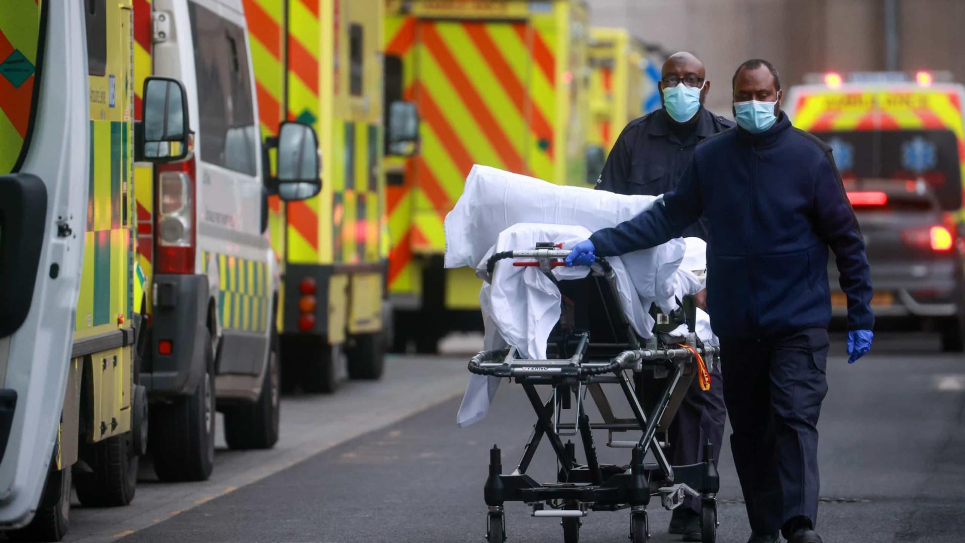 Mais de 46 mil novas infecções e 529 óbitos em 24 horas no Reino Unido