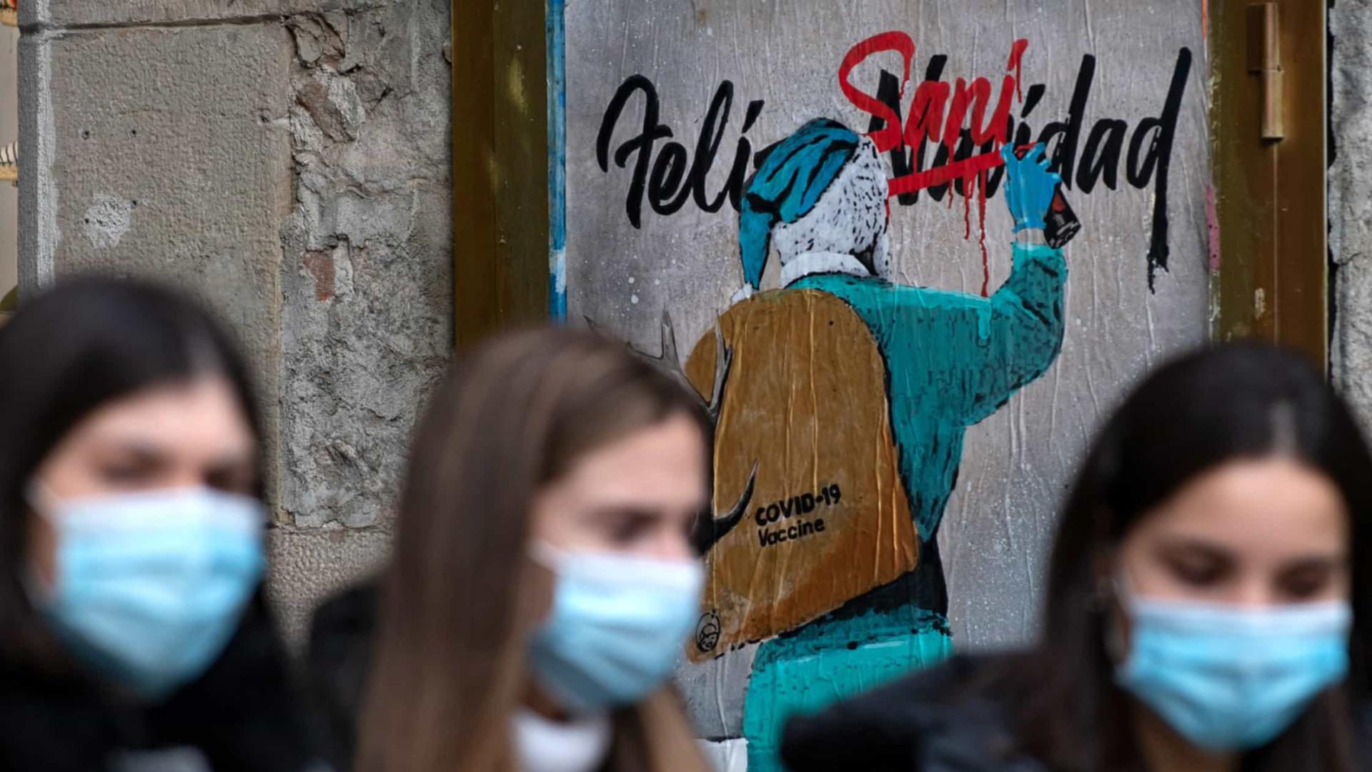 Espanha notifica mais 38.869 contágios e 195 óbitos nas últimas 24 horas