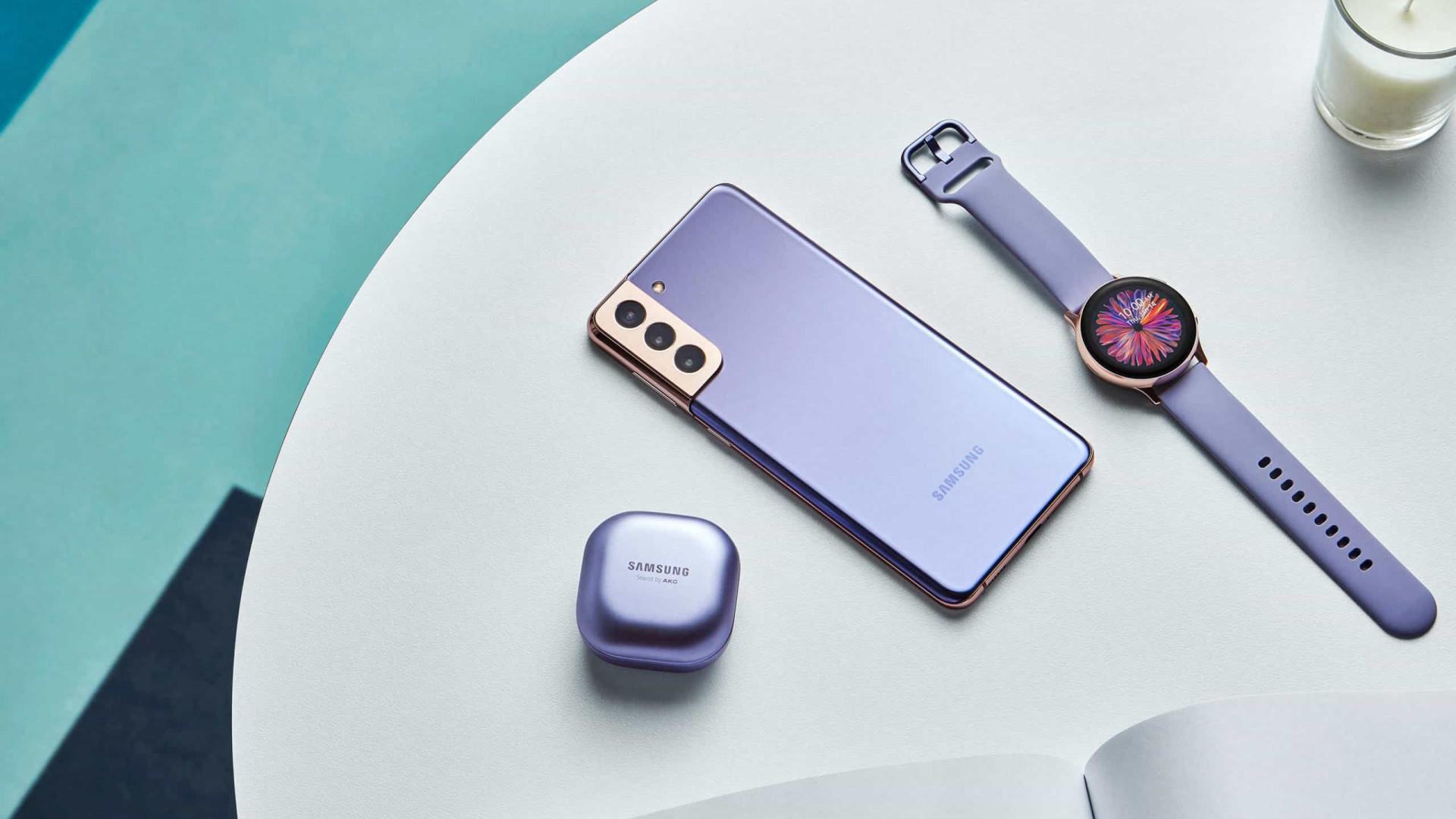 Samsung. Próximo top de linha segue mesmo caminho do Galaxy S21