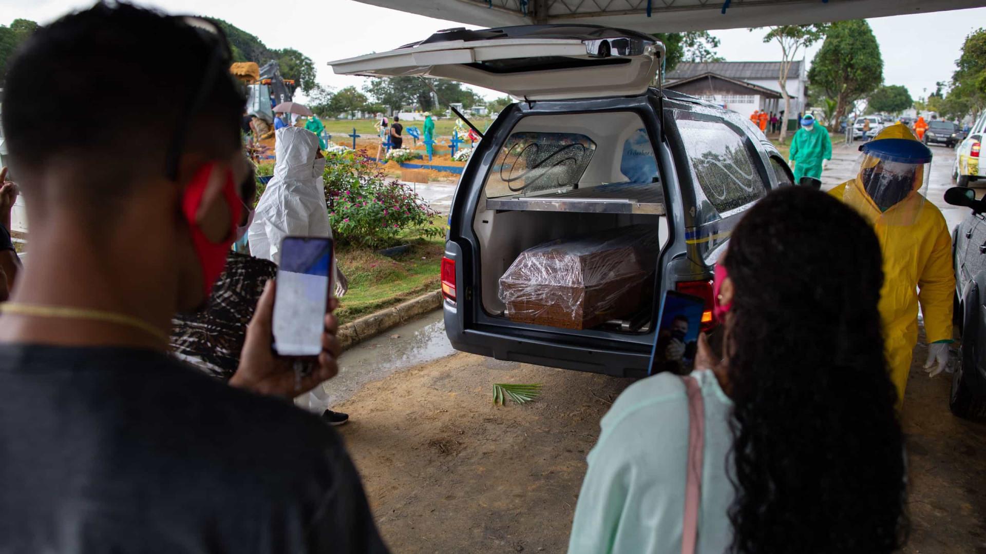 Hospitais do AM colapsam por falta de oxigênio e pacientes morrem asfixiados
