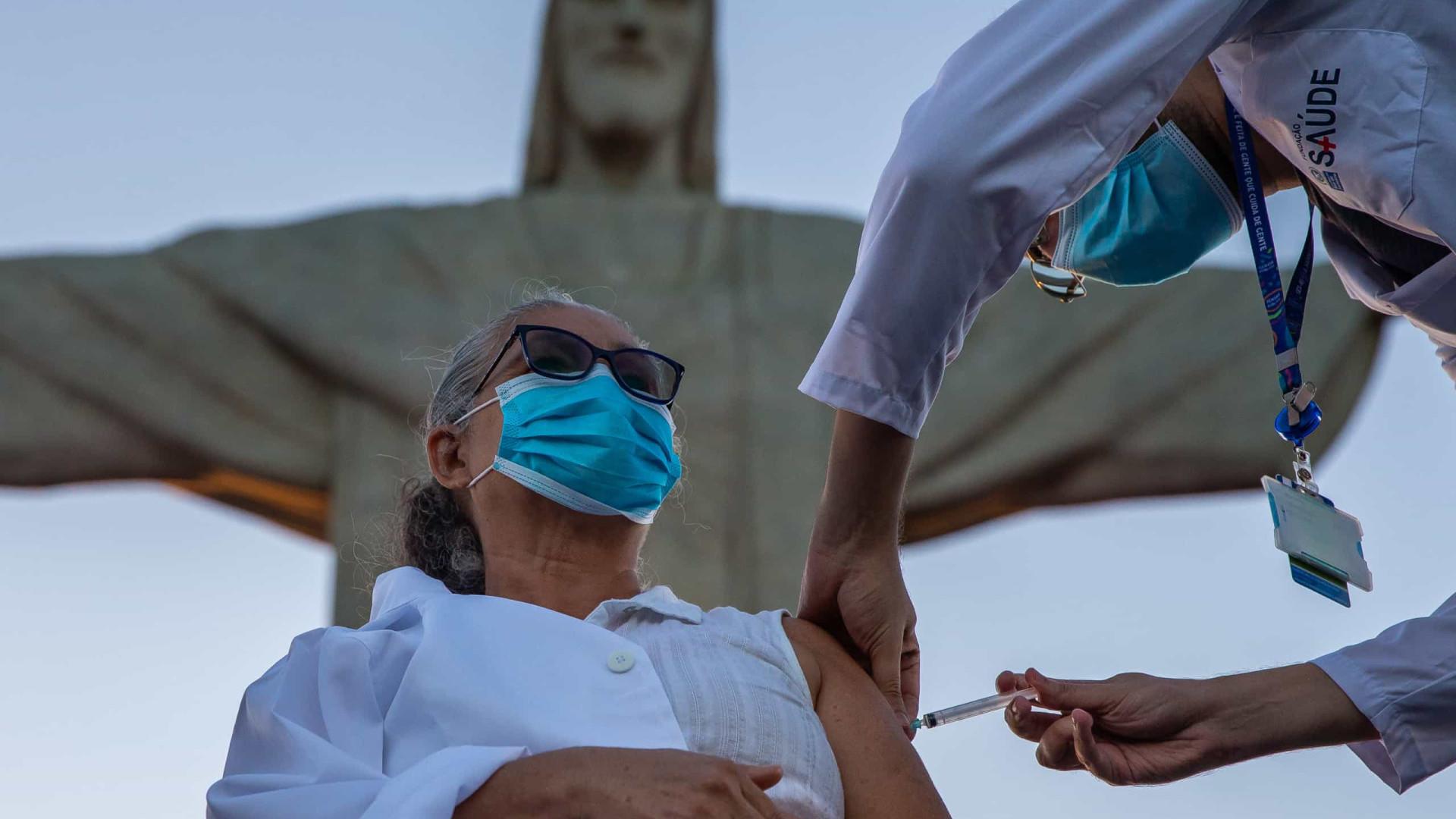 Estado do Rio lança calendário único de vacinação da covid-19