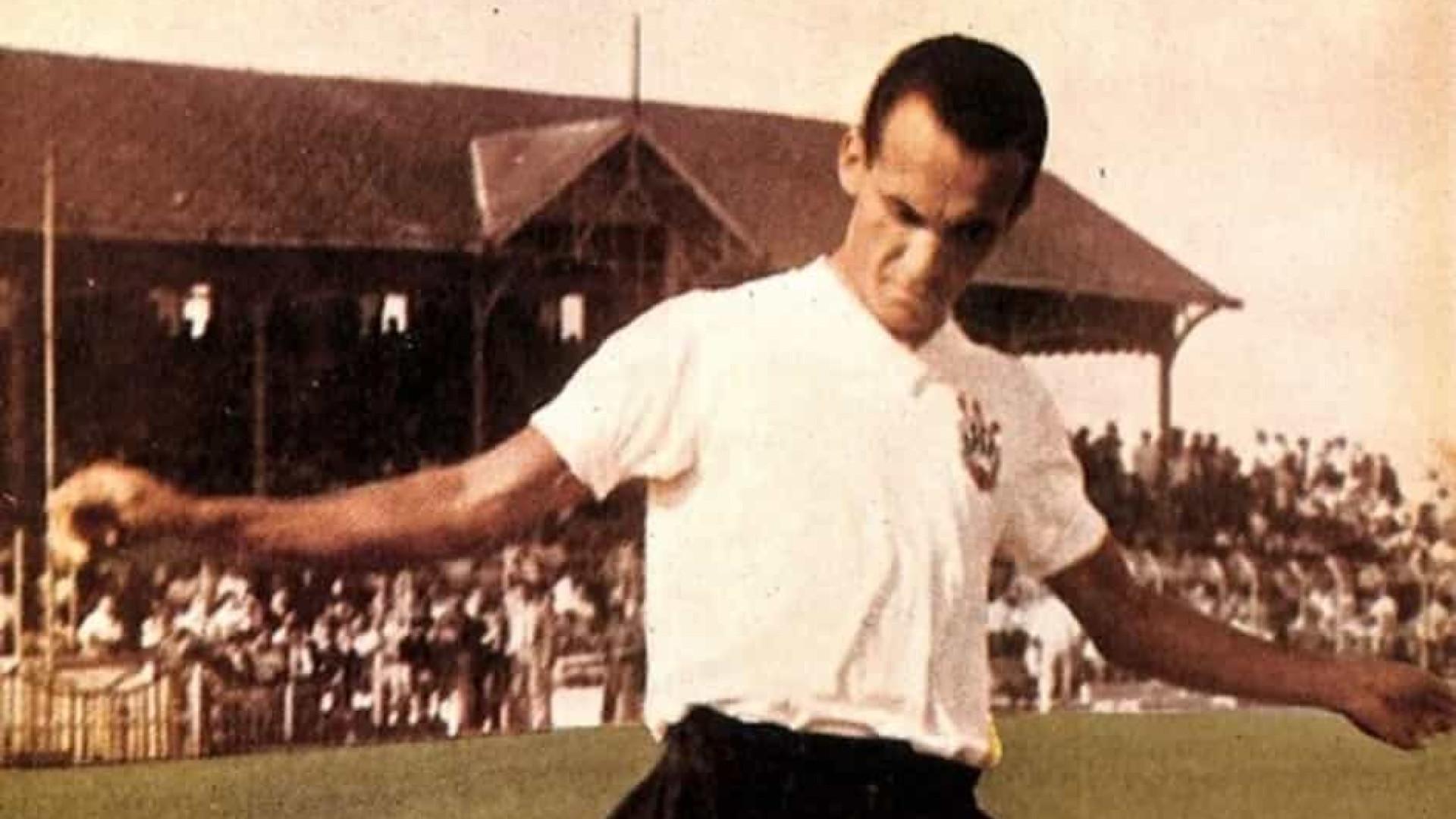Zague, ídolo e artilheiro do Corinthians na década de 1950, morre aos 86 anos
