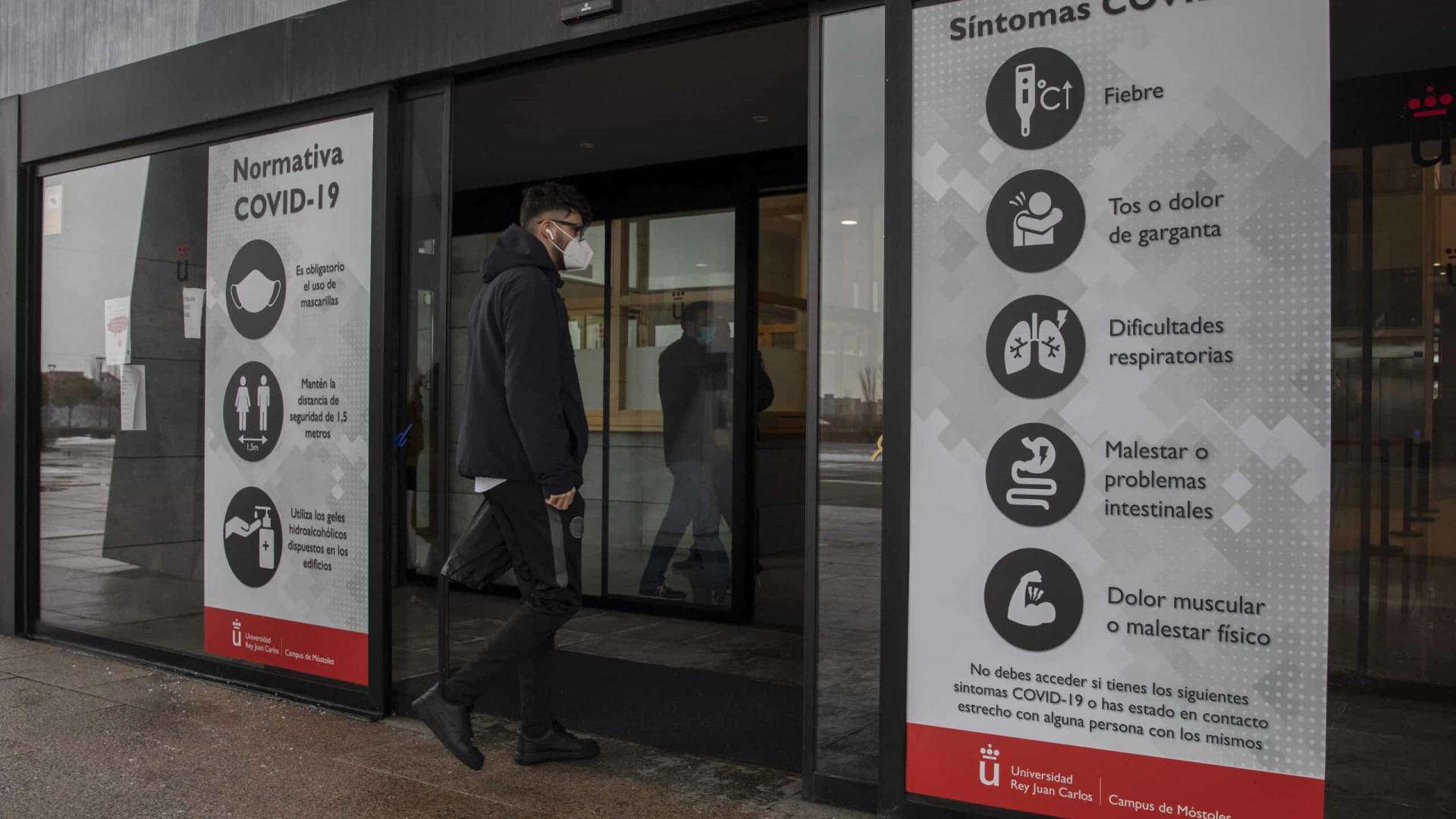 Espanha reporta 44.357 novas infecções, um novo máximo em 24 horas