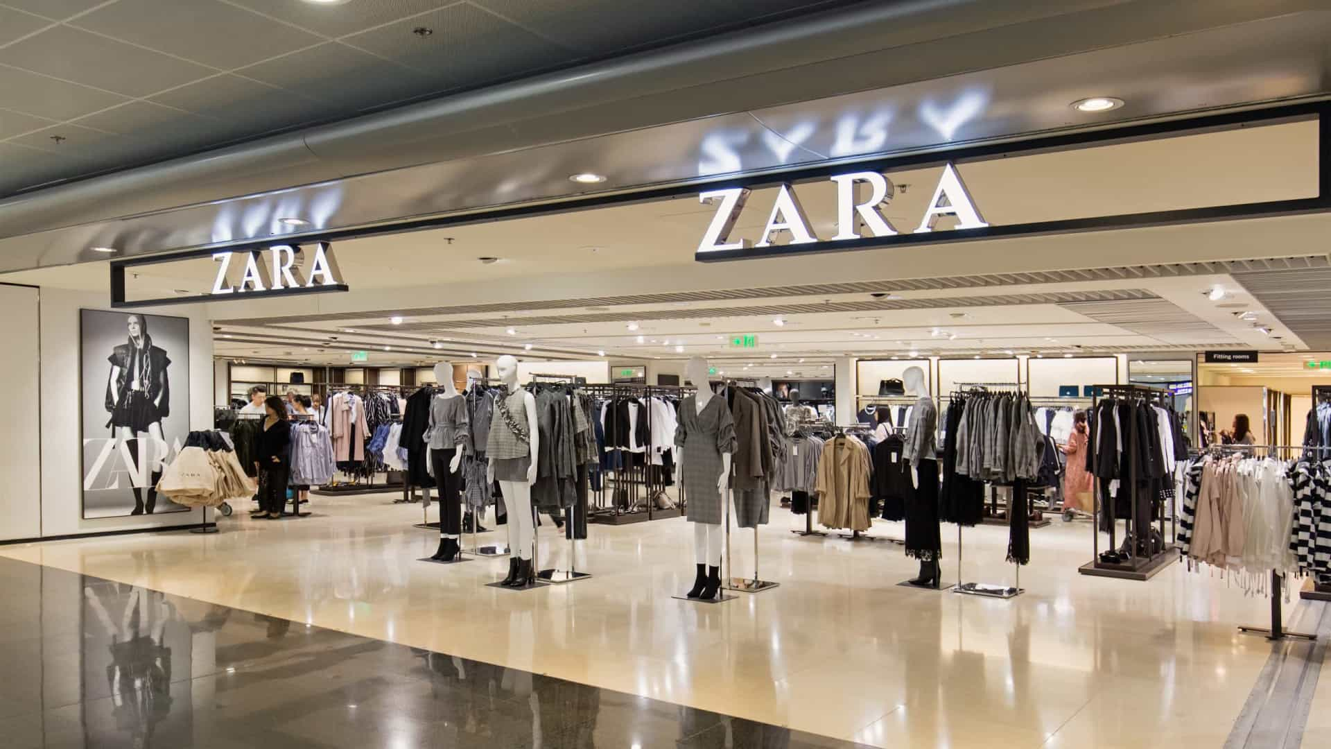 Varejista Zara fecha sete lojas no Brasil