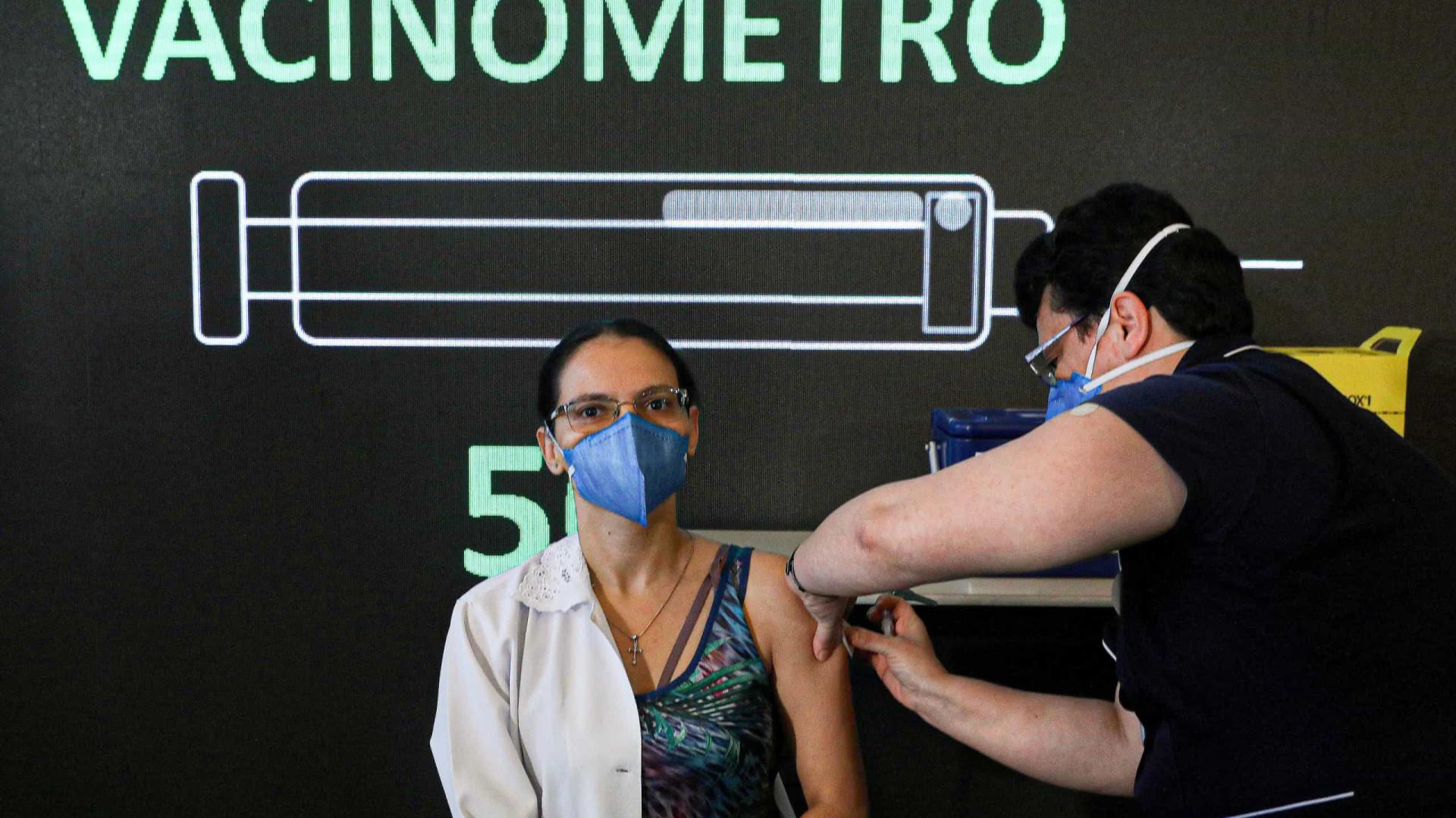 Confira os vacinômetros contra a covid-19 dos estados do país