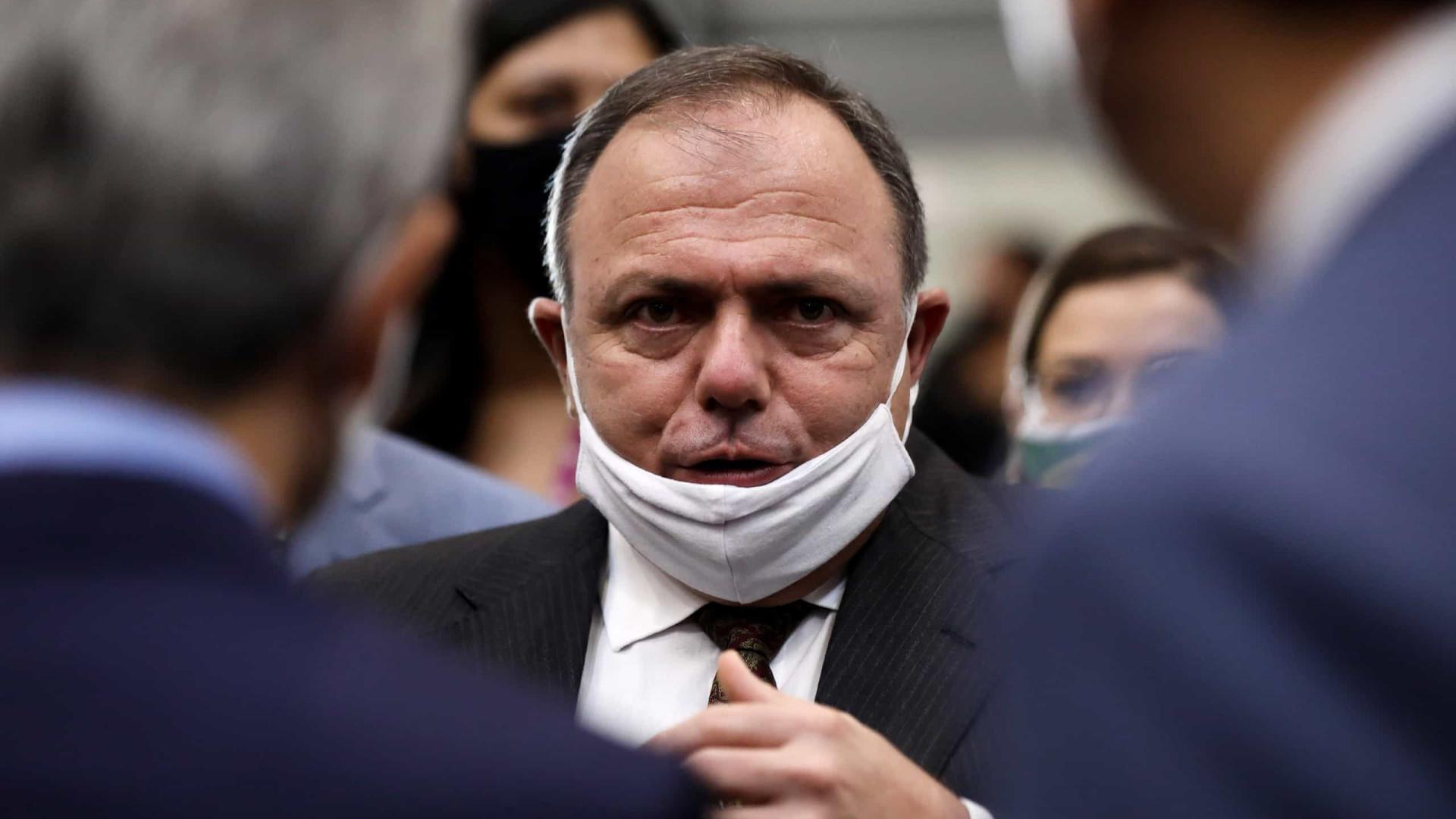 Pazuello diz a presidentes de Câmara e Senado que vai liberar recursos para UTIs