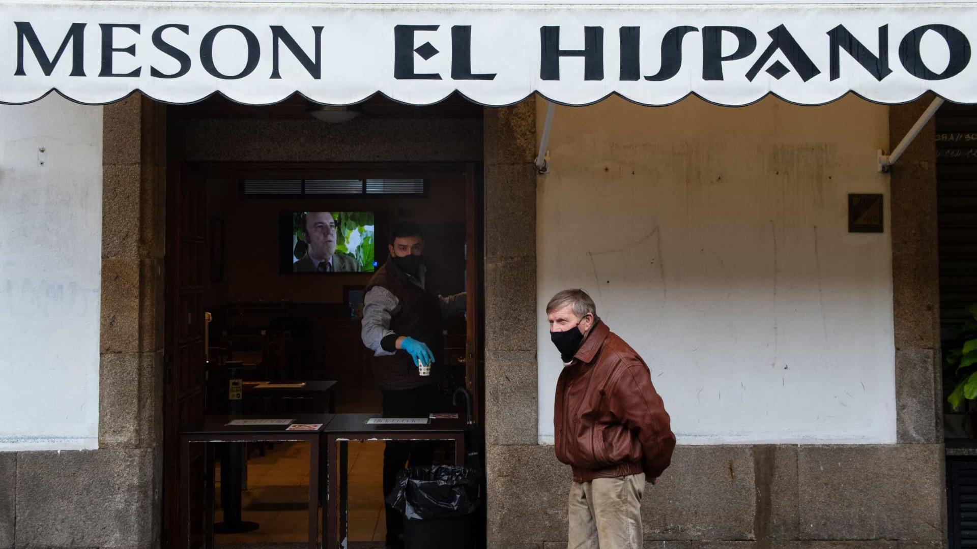 Covid-19: Espanha registra 40.285 novos casos e 492 mortes