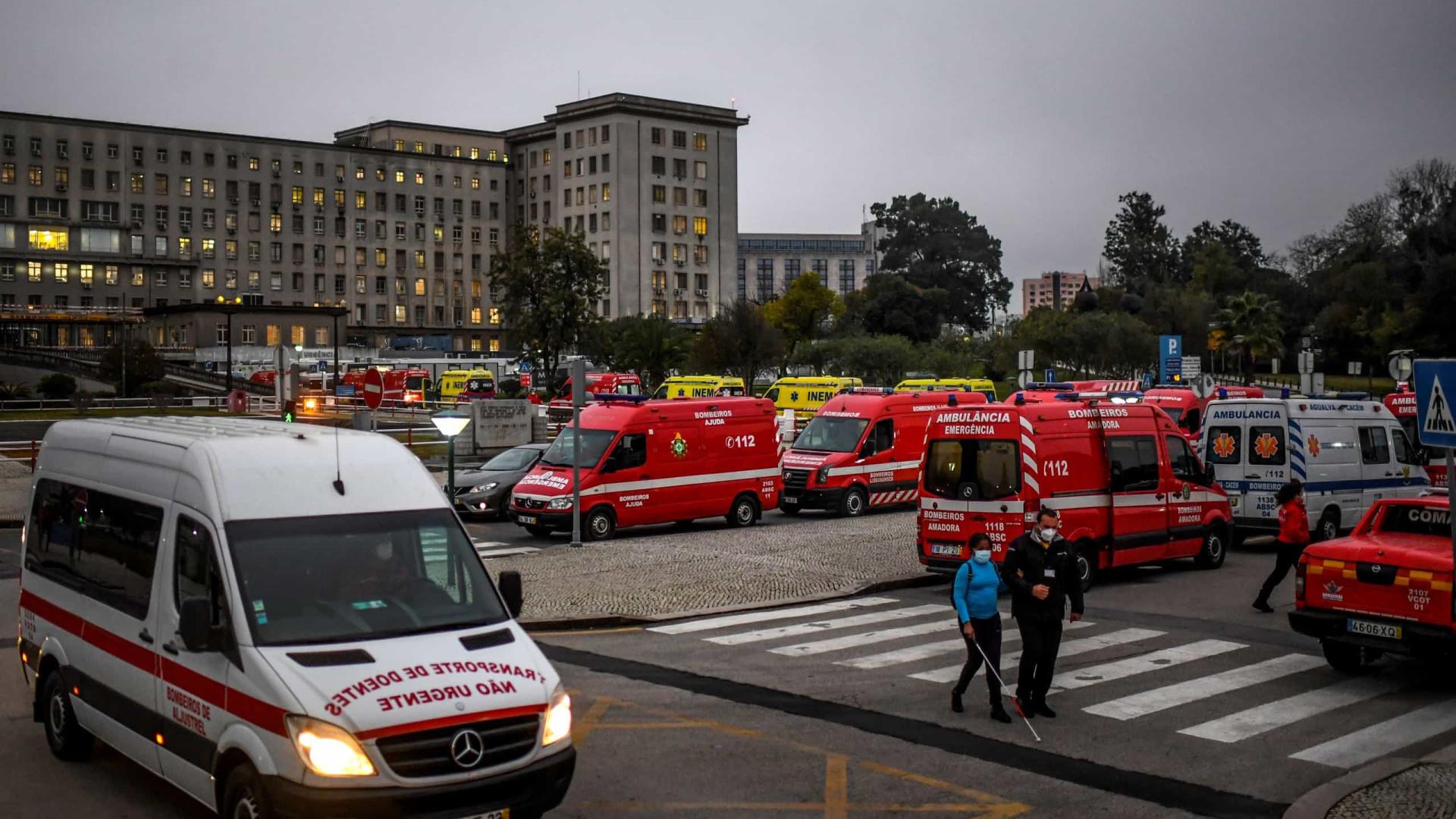 Portugal soma mais 278 mortes e 13.200 novos casos de Covid-19