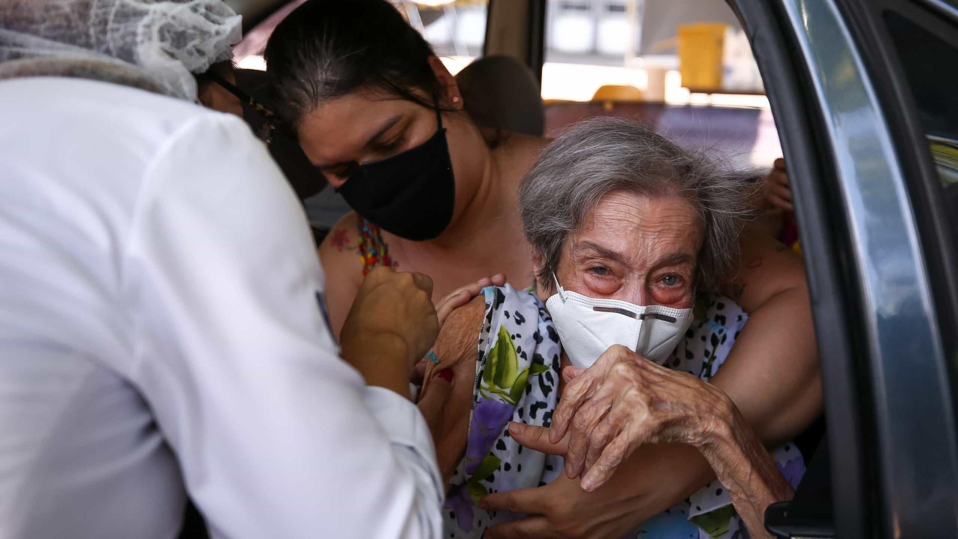 Mais de 2,2 milhões de pessoas já receberam dose de vacina contra Covid-19