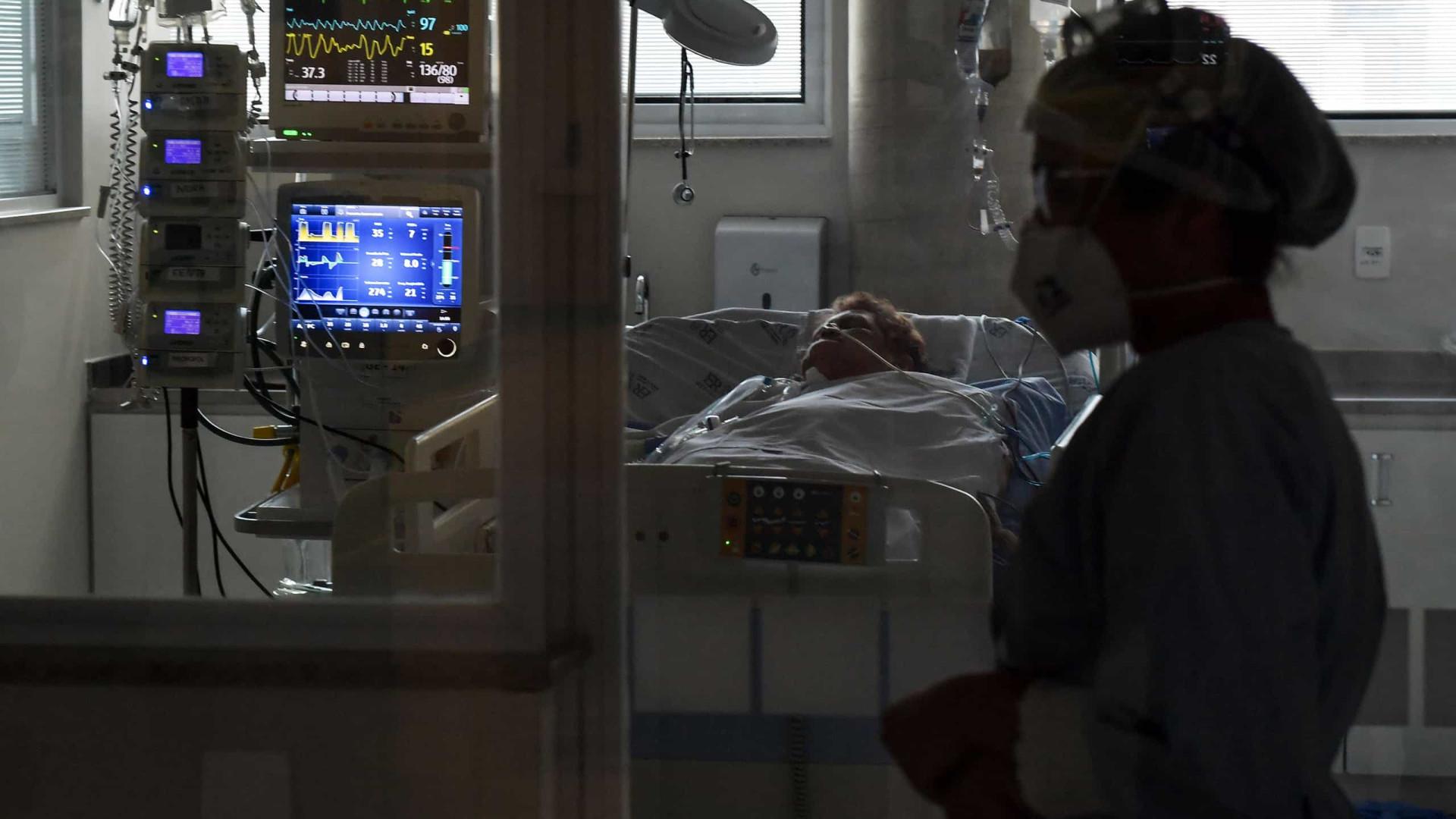 Após alta hospitalar, 1/4 dos pacientes intubados por Covid morre por sequelas