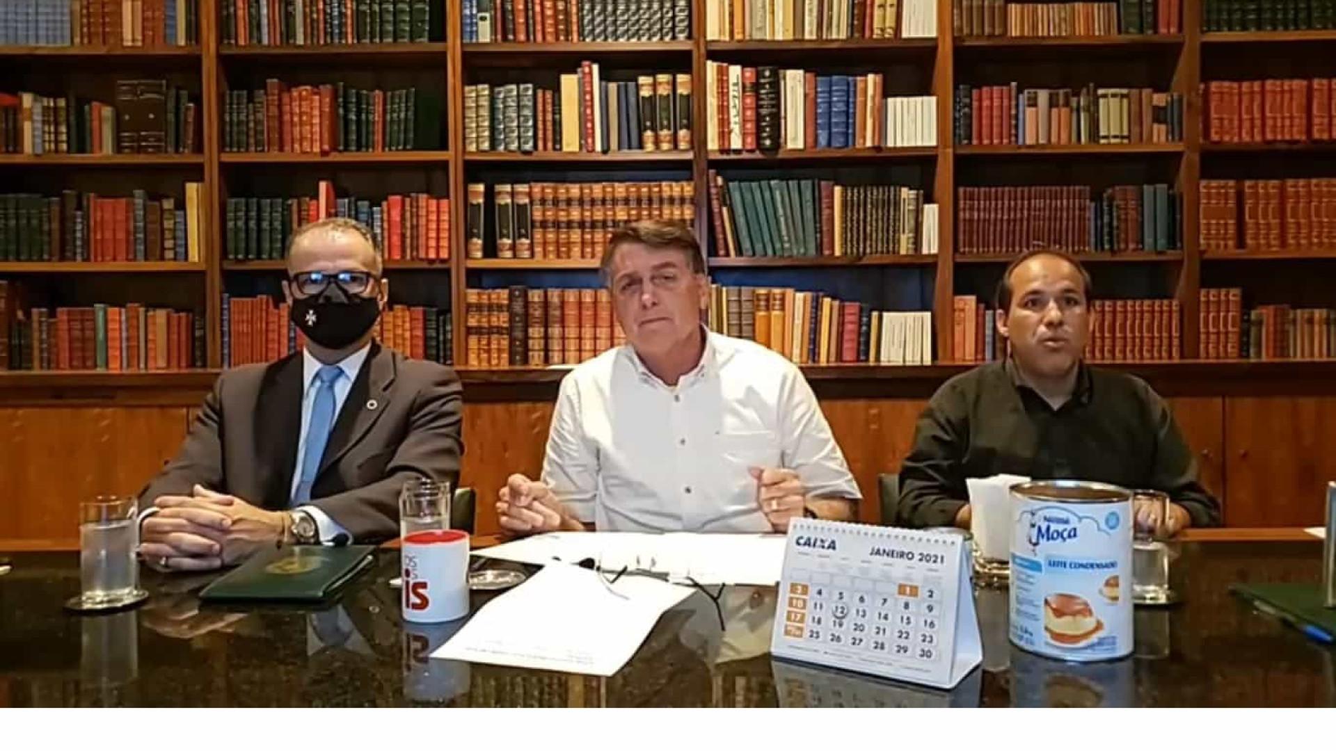 'Da minha parte ninguém vai me representar na Anvisa', diz Bolsonaro