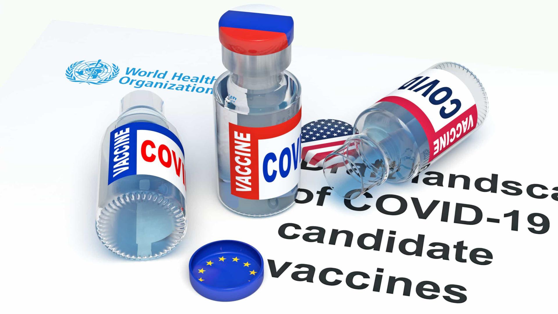União Europeia e Rússia fazem guerra de versões sobre vacina contra Covid