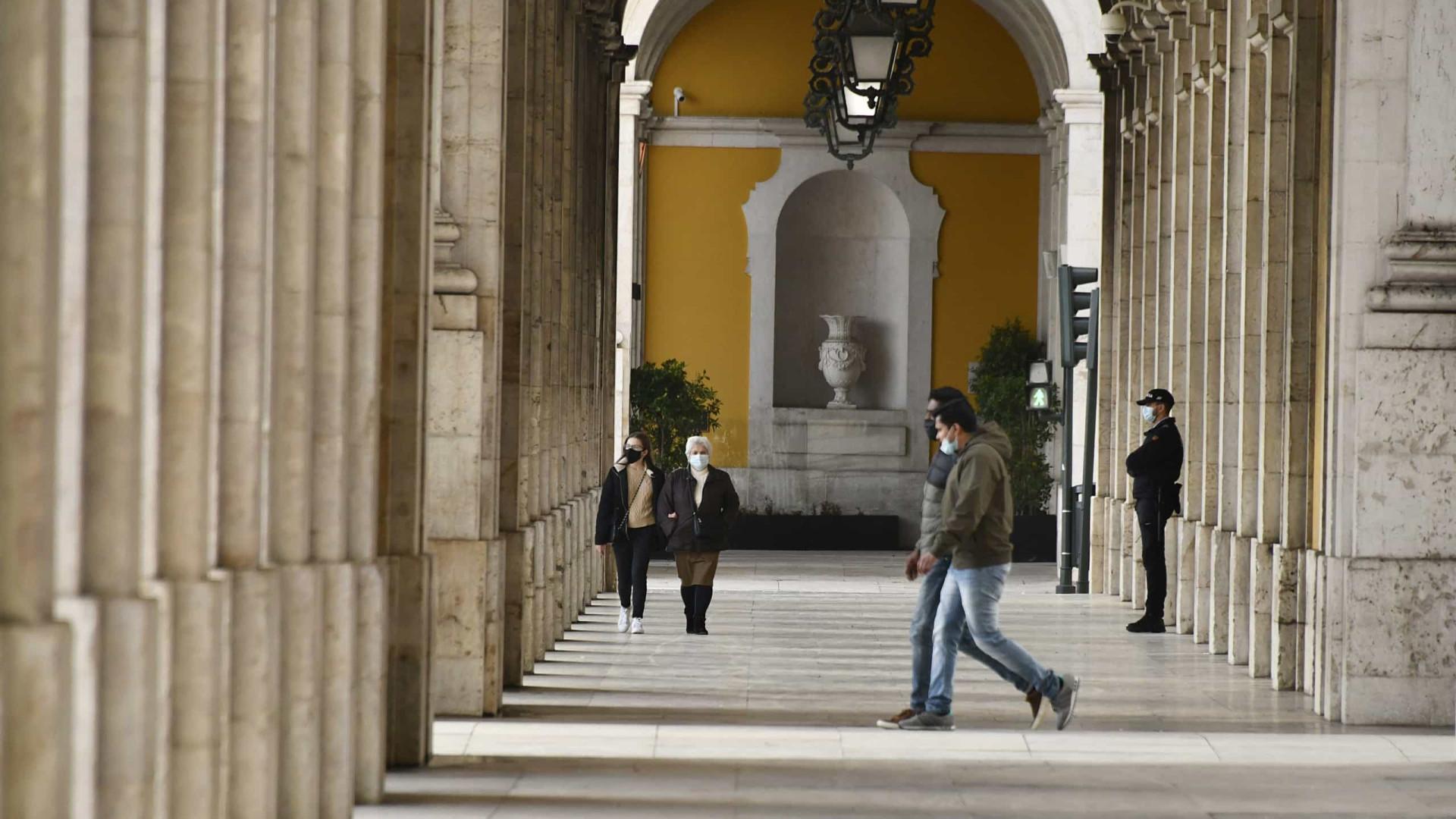 Covid-19: Portugal contabiliza mais 167 mortes e 3.480 infectados