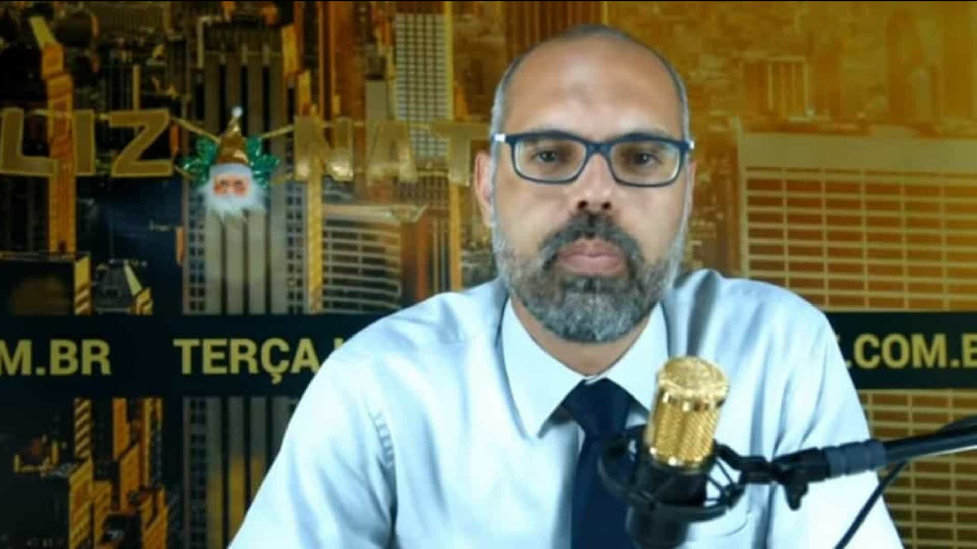 Allan dos Santos é acusado de litigância de má-fé pelo Google