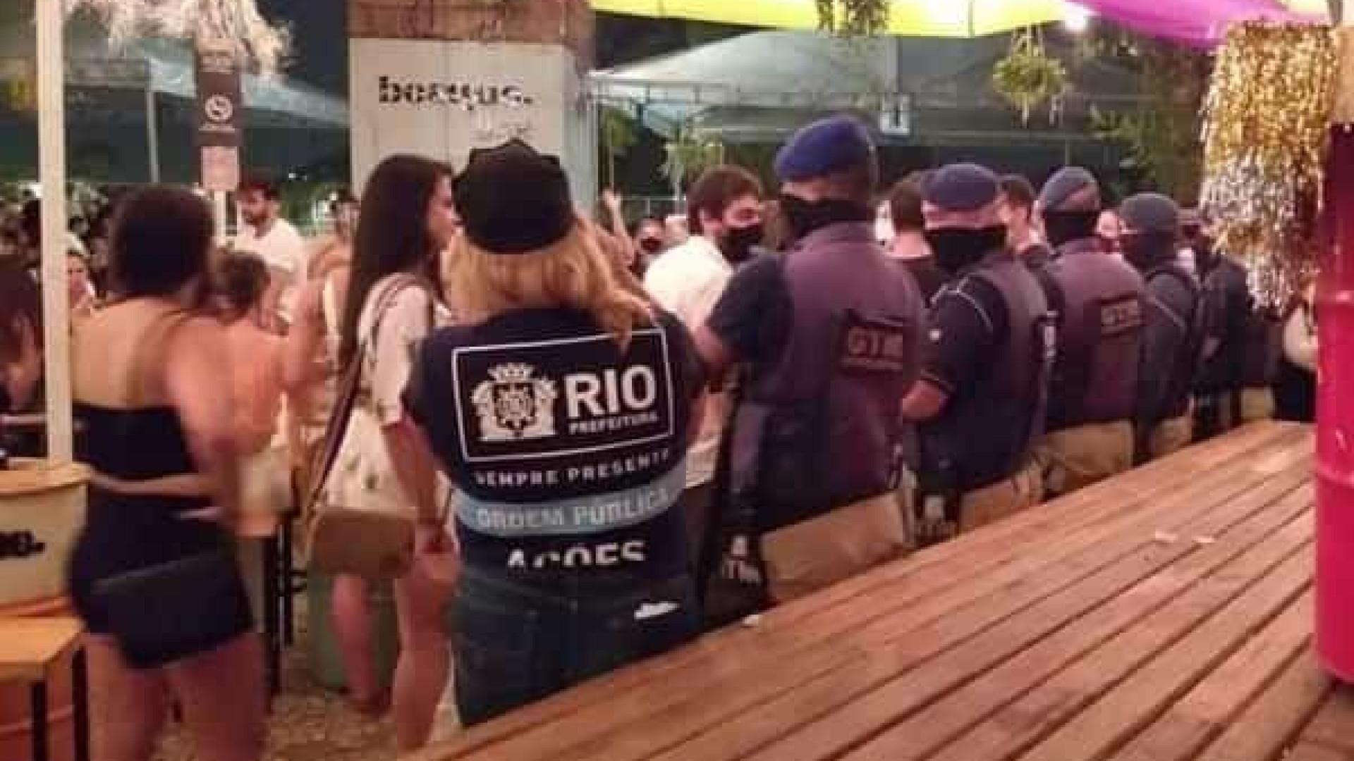 Rio interdita 14 estabelecimentos por irregularidades no carnaval