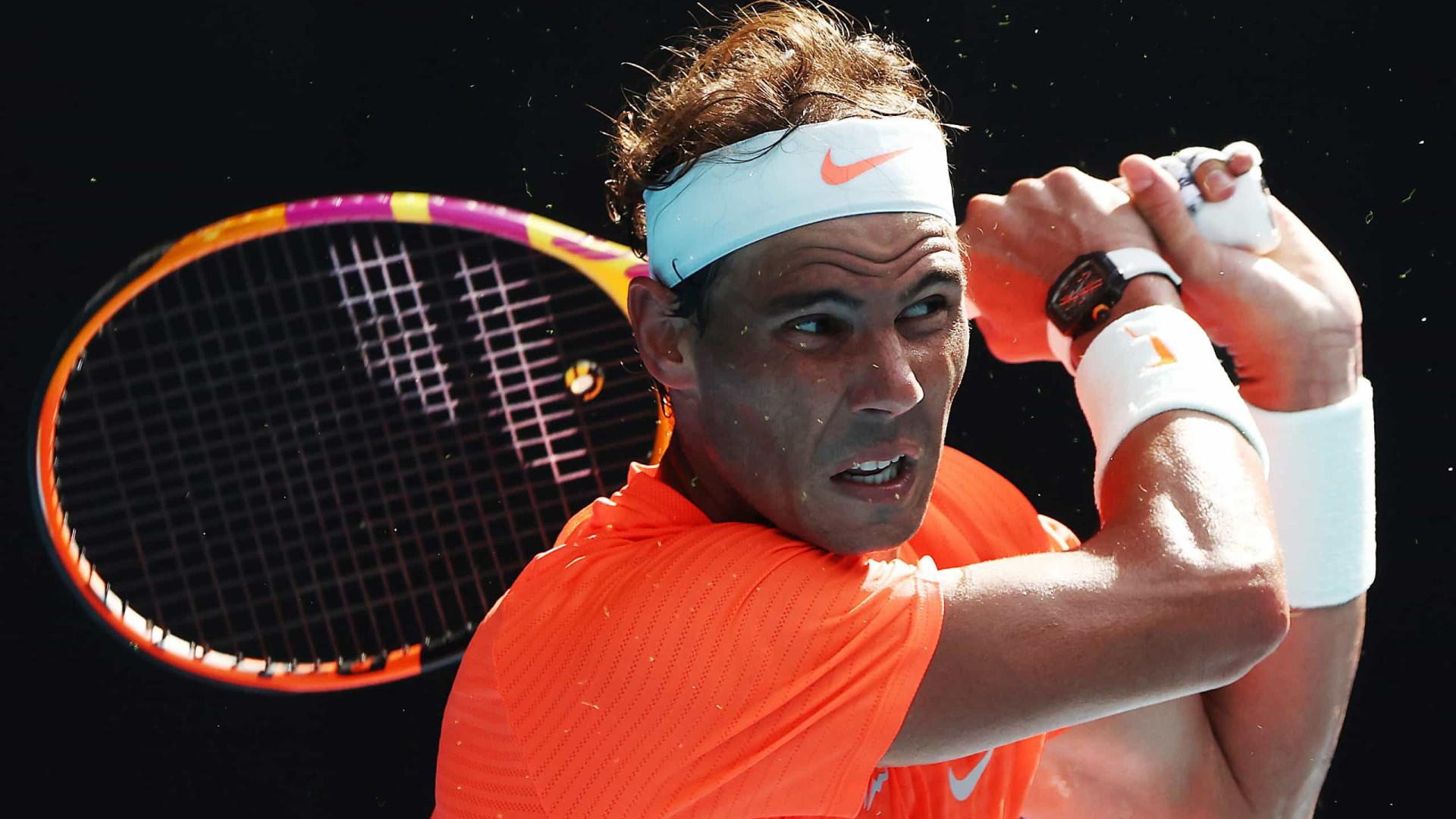Nadal conta que briga pelos troféus de Grand Slam não muda seu foco no tênis