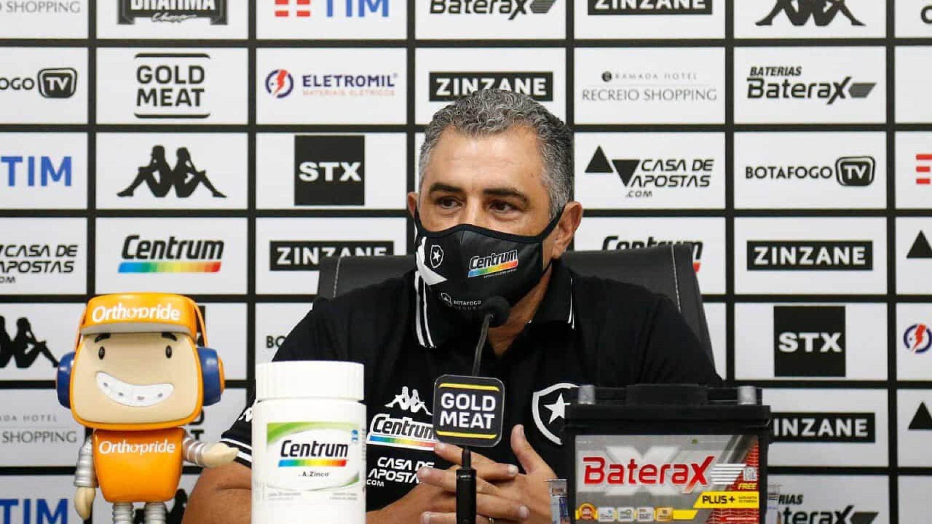 Botafogo apresenta Marcelo Chamusca como novo treinador