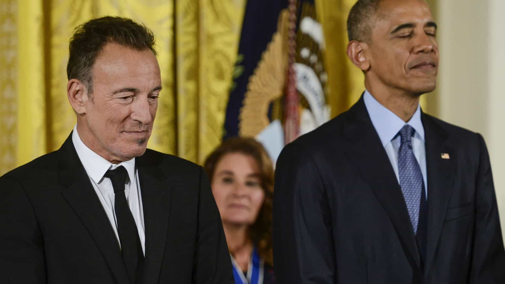 Obama e Bruce Springsteen lançam podcast no Spotify