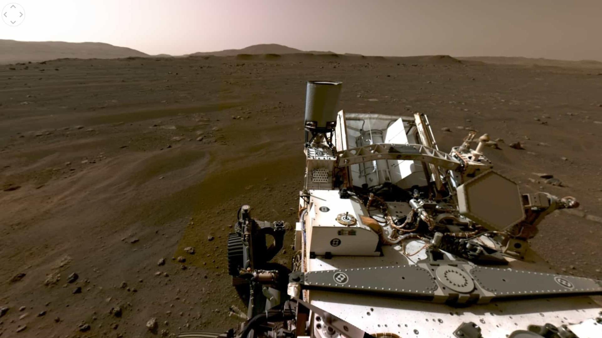 Google celebra seis meses de Perseverance em Marte com (divertido) vídeo